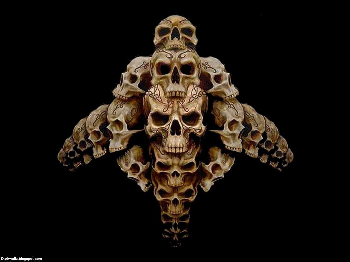 Skull Wallpapers Image - Wallpaper Cave