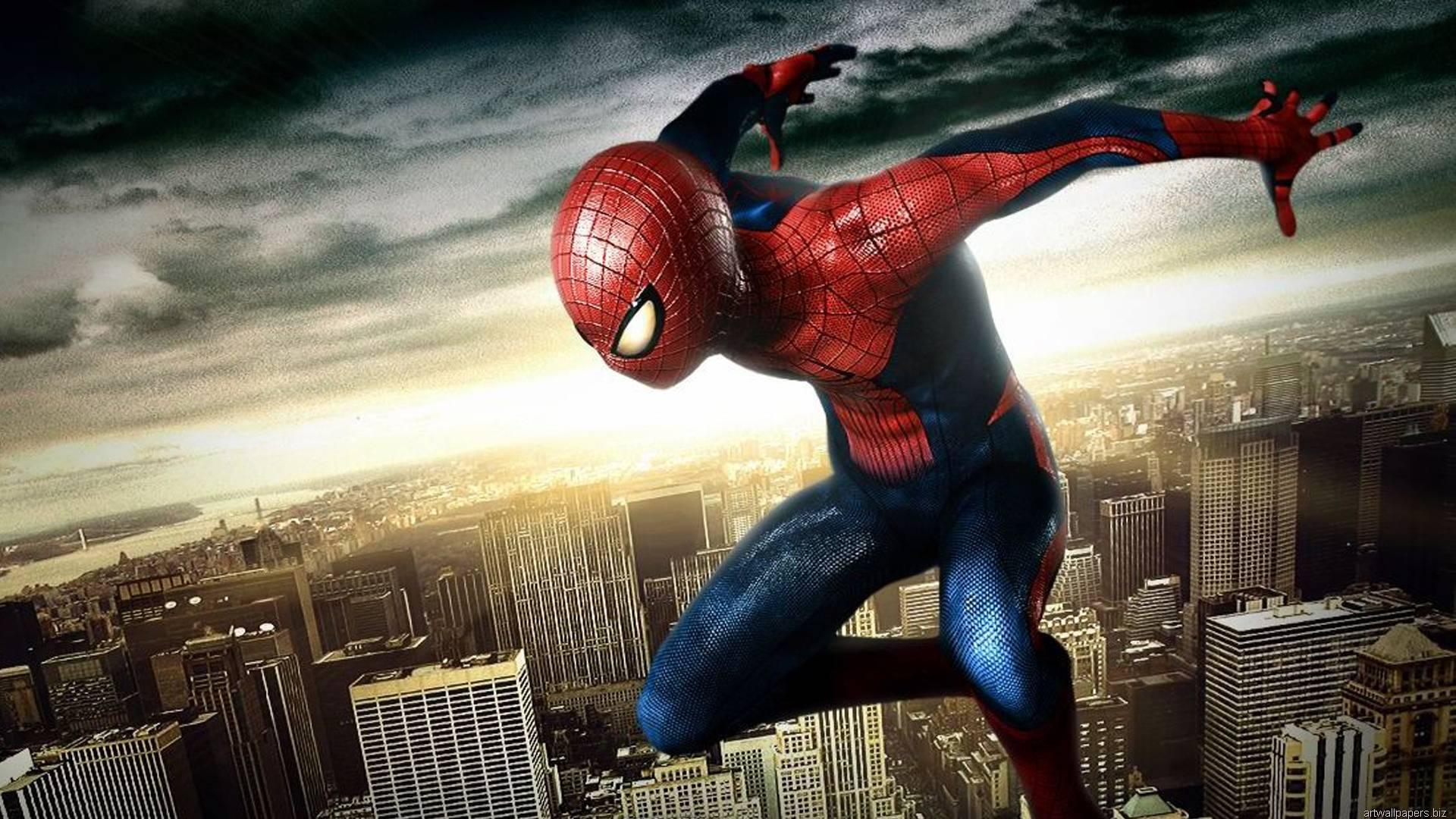 amazing spectacular spiderman wallpaper