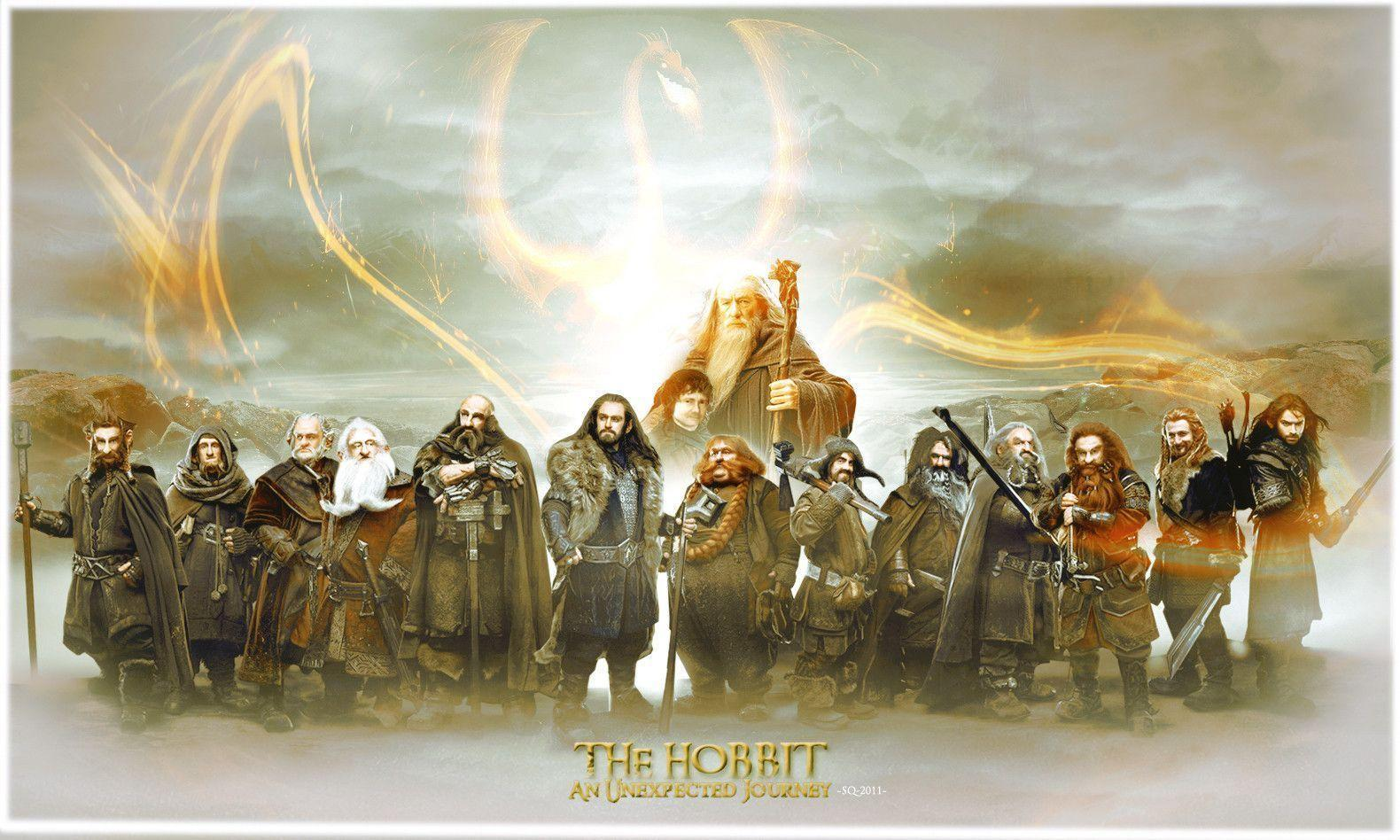 2012 The Hobbit An Unexpected Journey - Movie Wallpapers