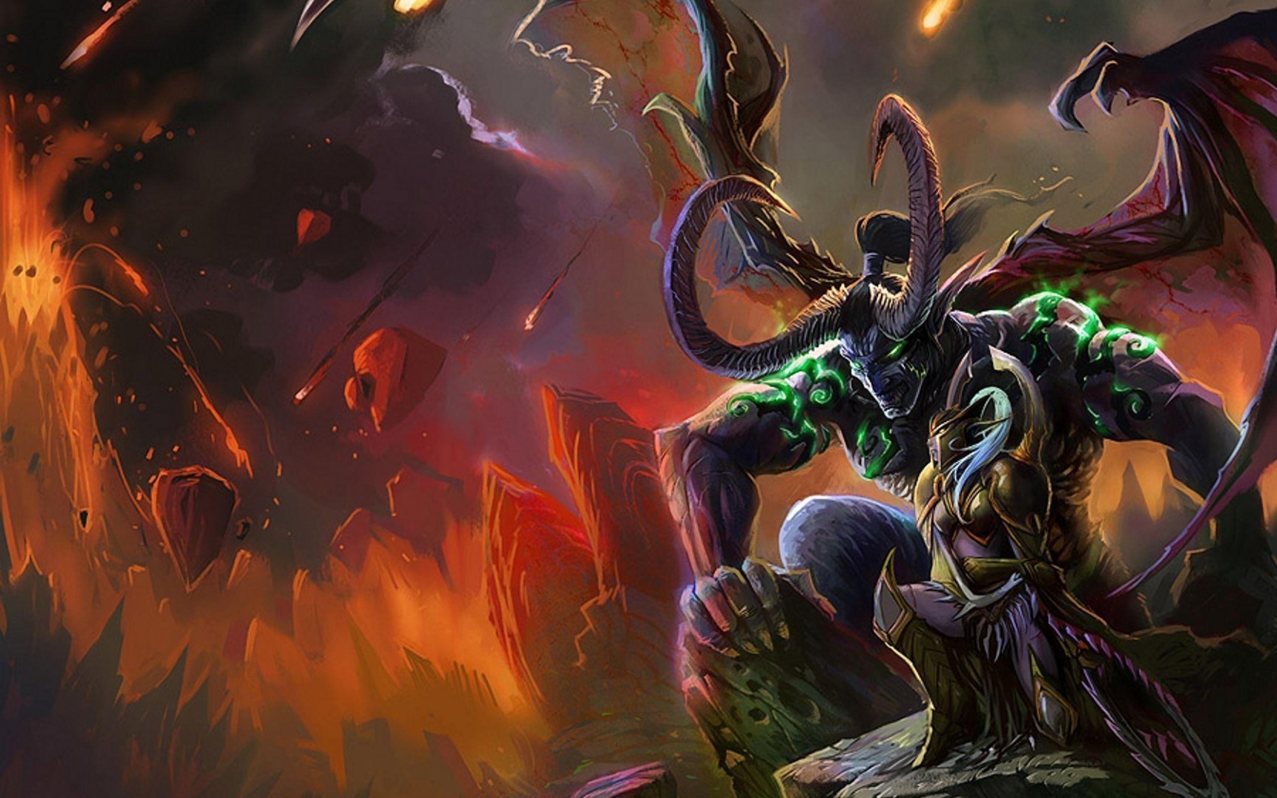Illidan wallpapers wallpaper cave - World of warcraft images ...