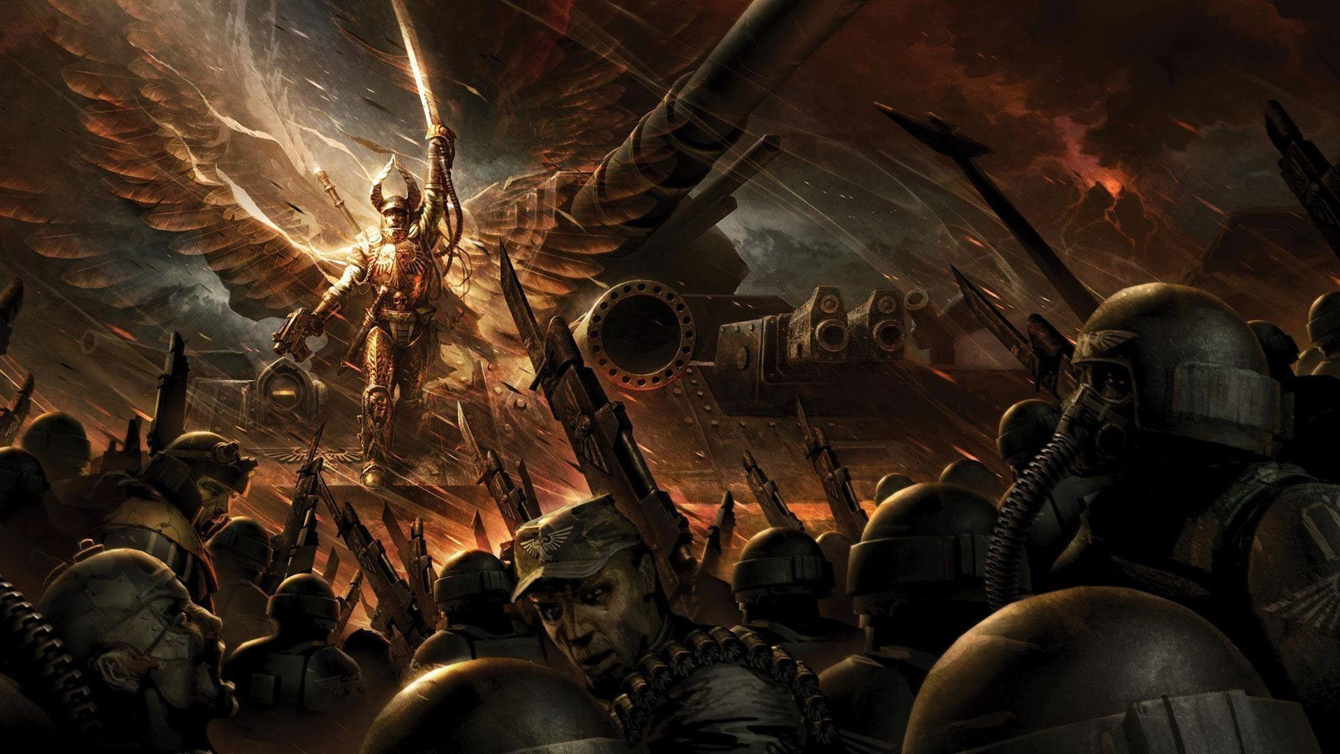 Warhammer 40k Wallpapers - Wallpaper Cave
