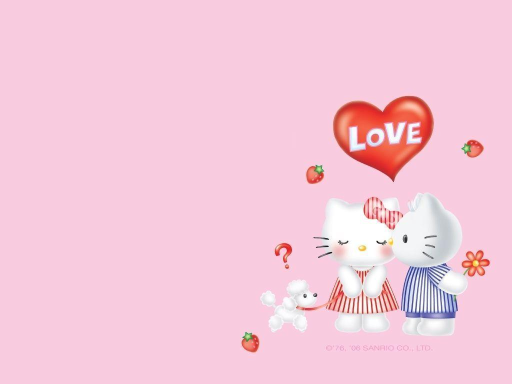 Hello Kitty Valentine Wallpapers Wallpaper Cave