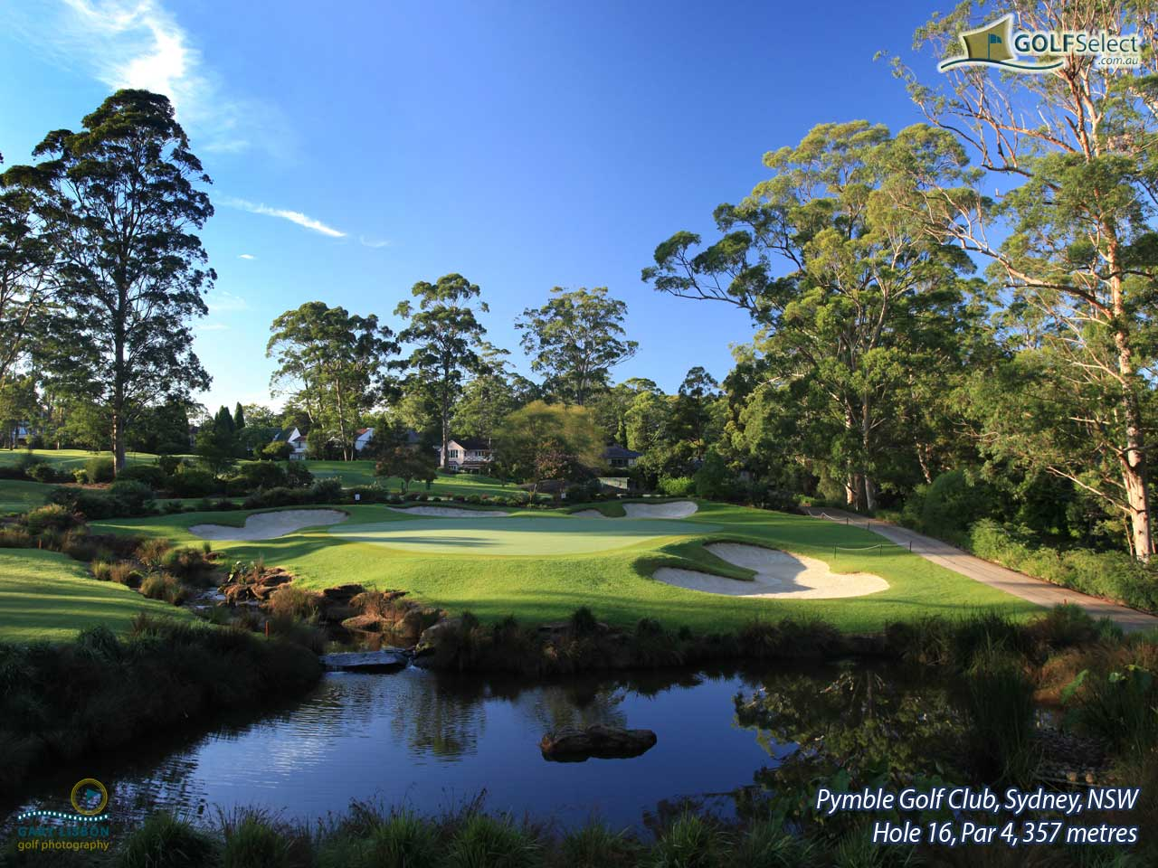 GOLFSelect - Golf Wallpaper - Pymble Golf Club - Hole 16, Par 4 ...