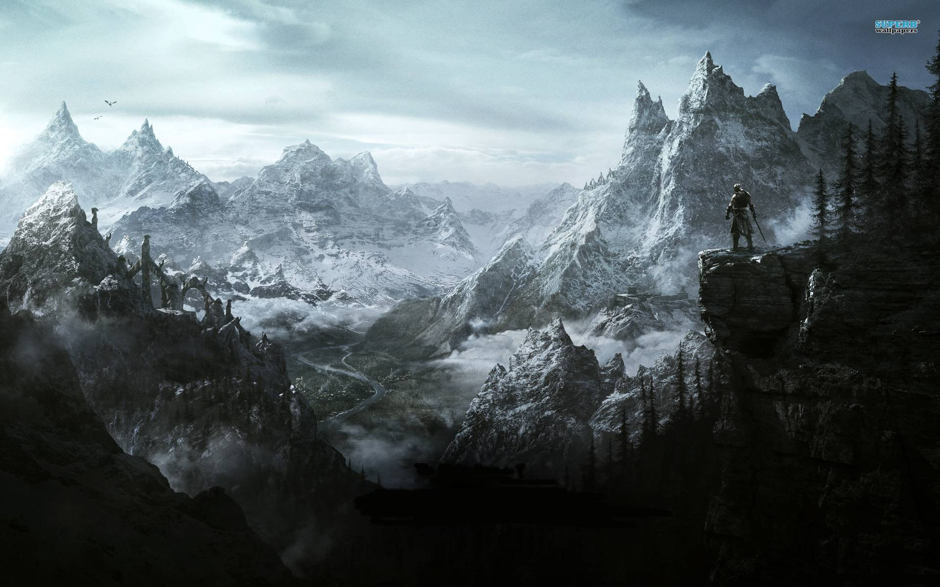 skyrim wallpapers 1920x1200 - wallpaper cave
