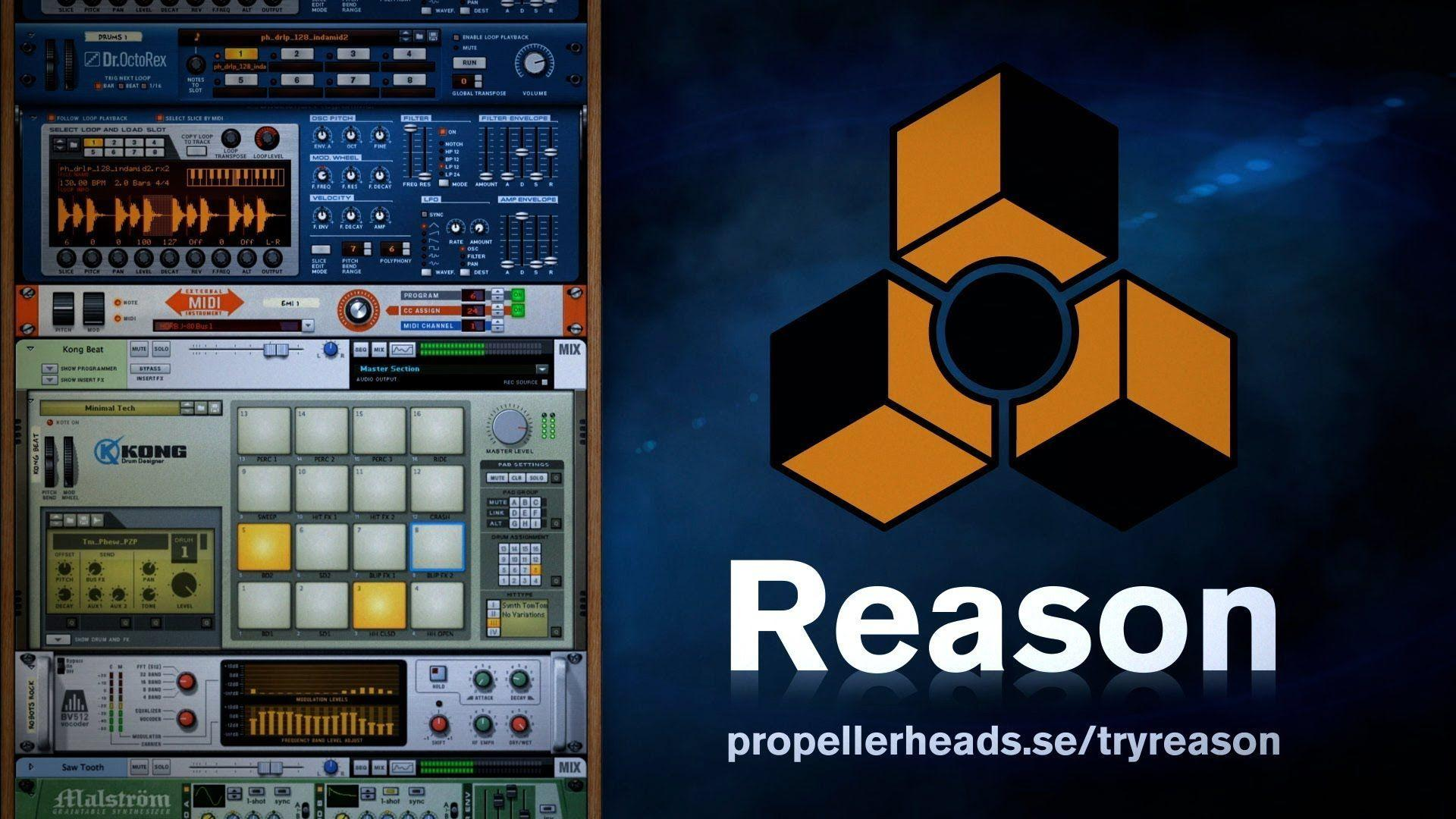 MPC Software, Propellerhead Reason, and ReWire VST – 32bit Mode