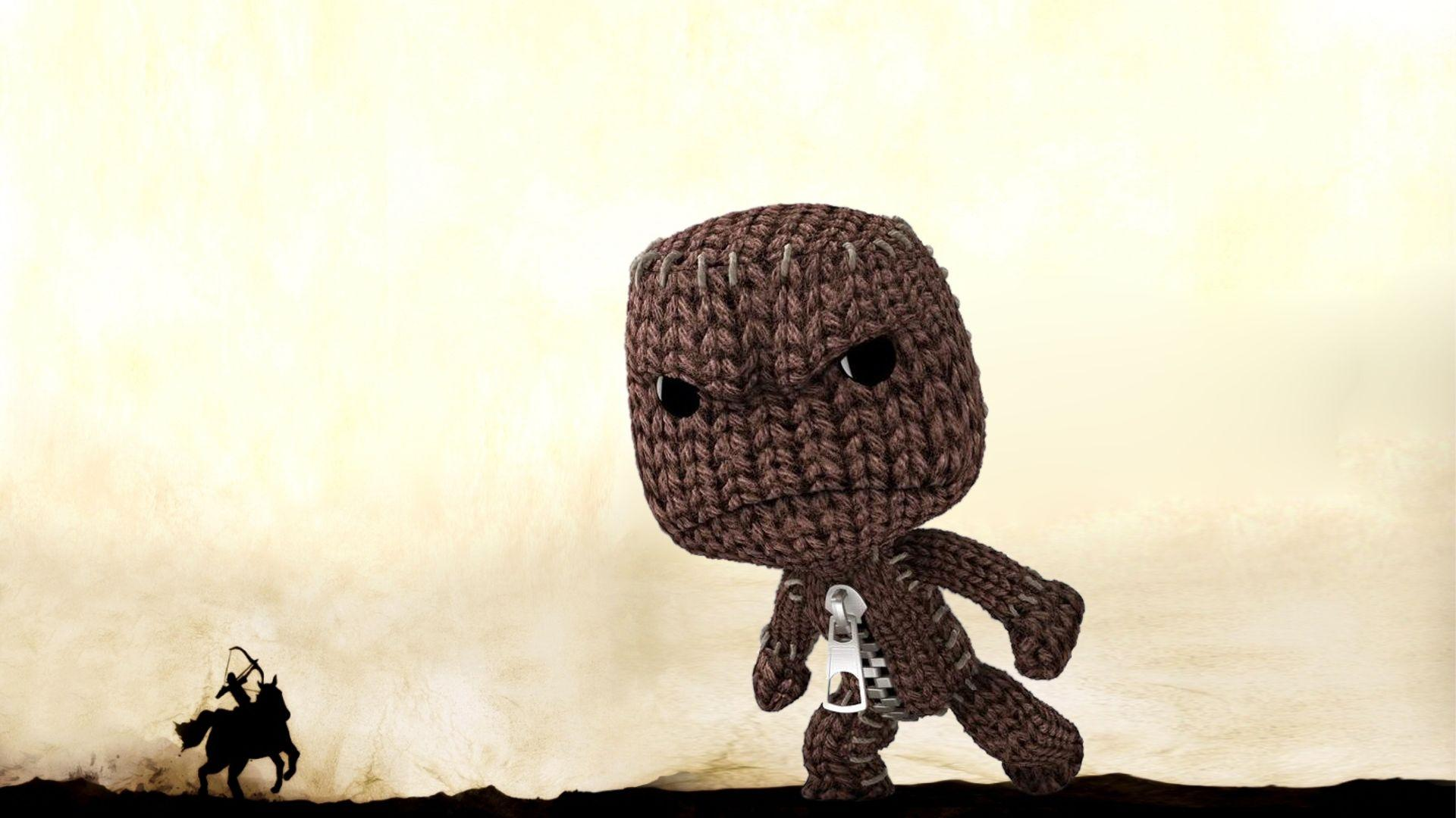 Image For > Little Big Planet Sackboy Wallpapers