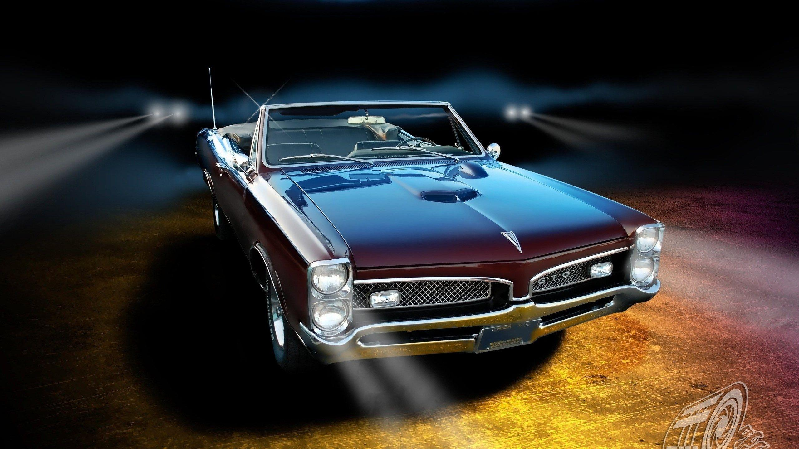 Pontiac GTO classic muscle cars wallpapers