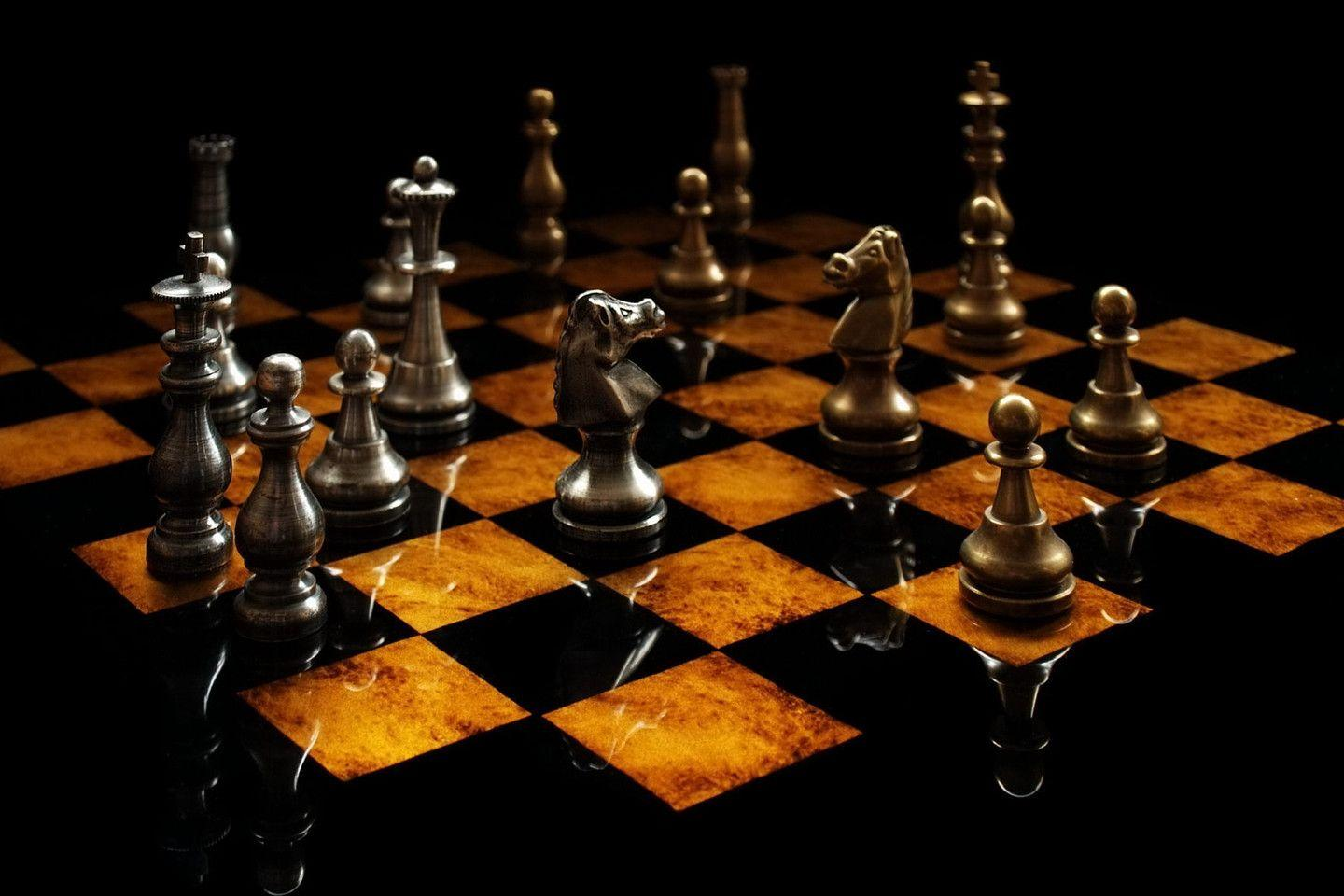 3D Chess Board Wallpapers