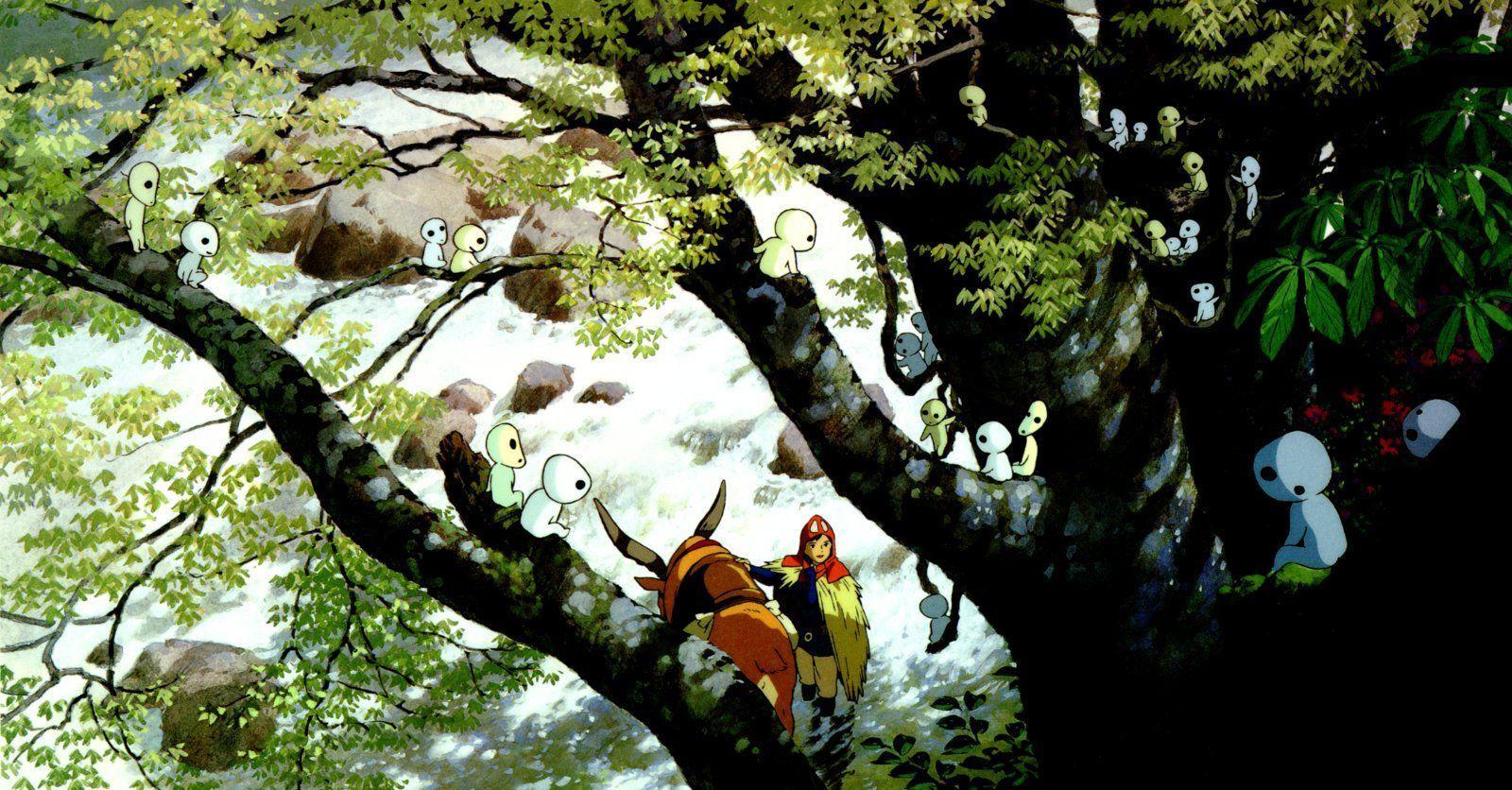 Princess Mononoke Wallpapers - Wallpaper Cave