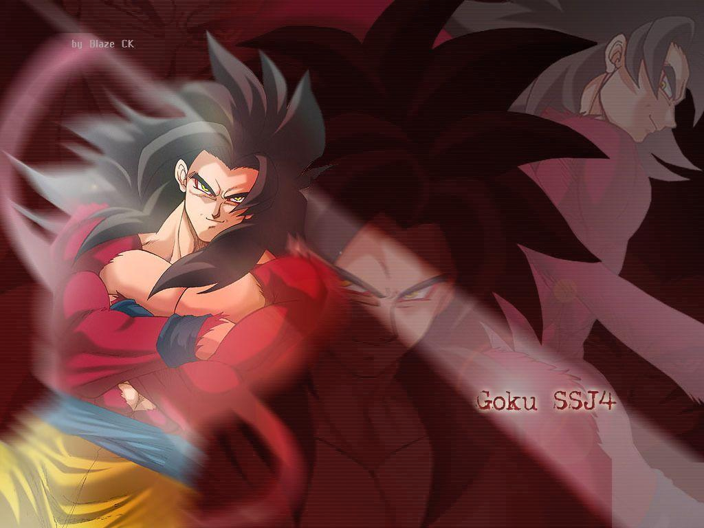 Goku, Super Saiyan Level 4 - Dragon Ball Z Wallpaper (26188408 ...