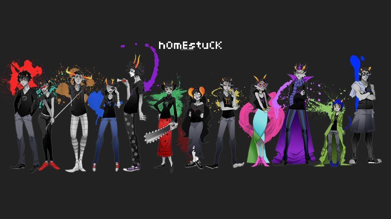 Download Homestuck Wallpaper 1366x768