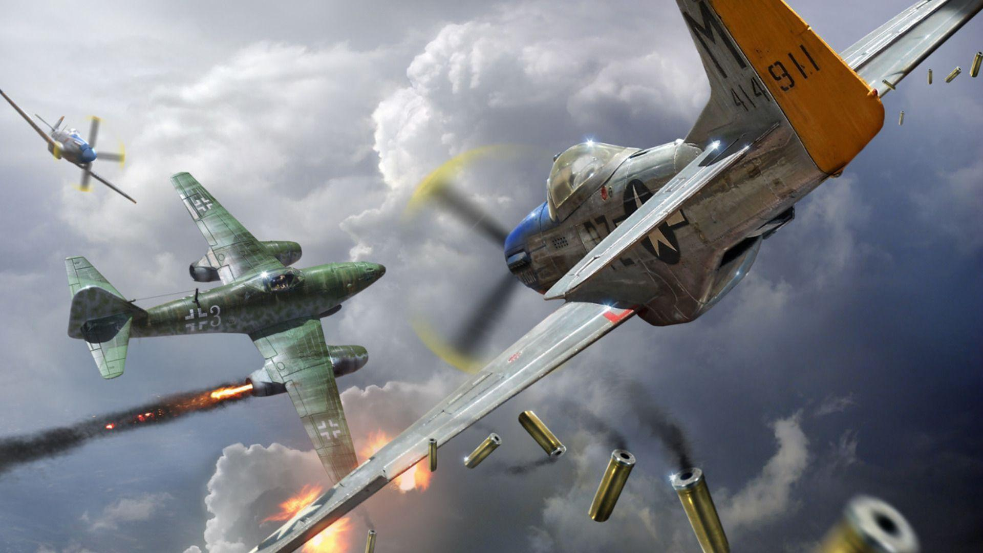 Vehicles For > Ww2 Military Aircraft Wallpapers