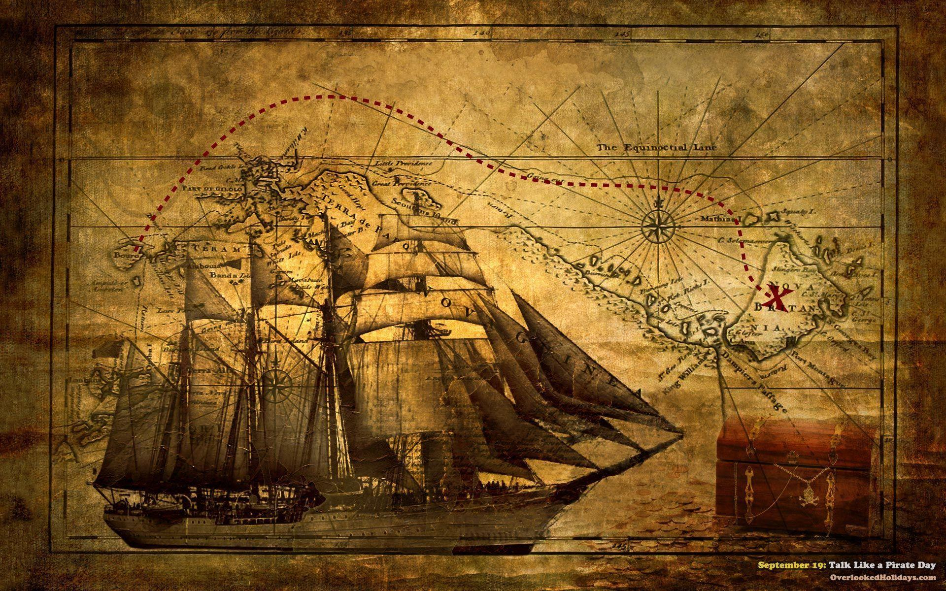 pirate ship computer wallpapers - photo #14