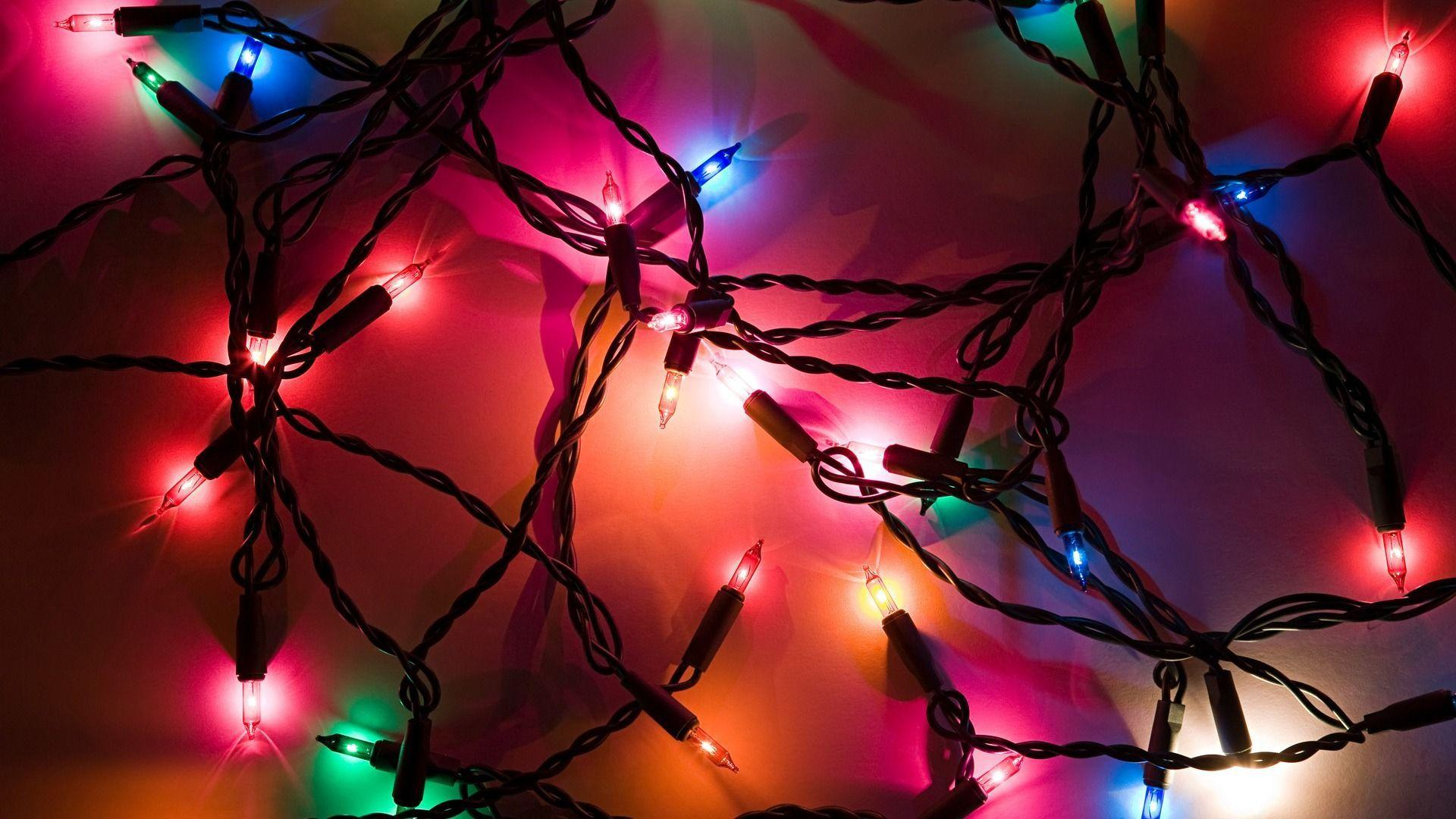 color Lighting Christmas Wallpapers