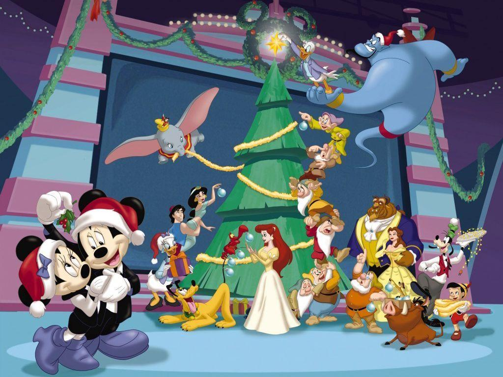 Disney - Christmas TheWallpapers | Free Desktop Wallpapers for HD ...