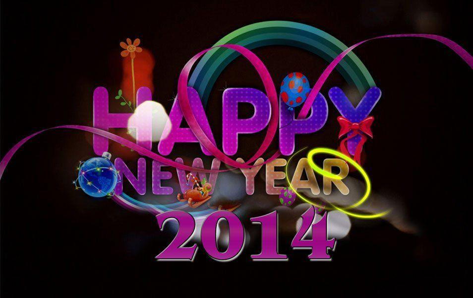 Happy new wallpapers wallpaper cave happy new year wallpaper 2014 hd voltagebd Choice Image