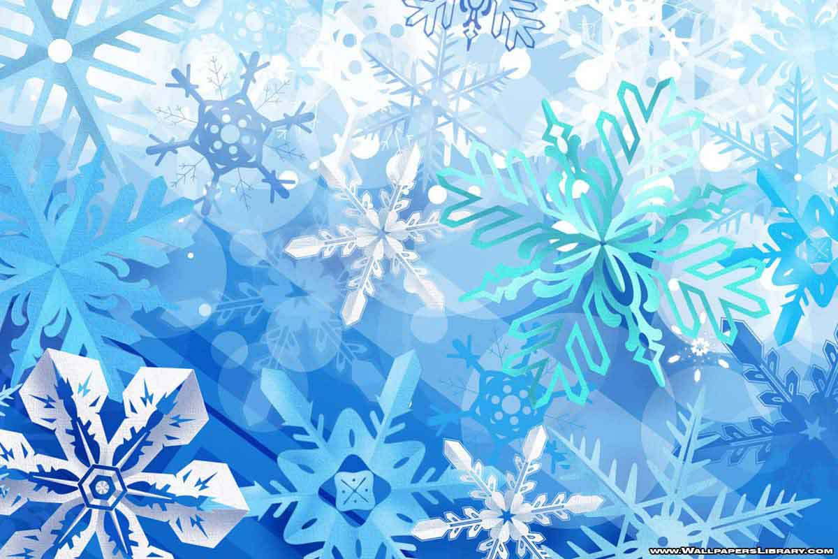 Snowflakes Wallpapers - Wallpaper Cave