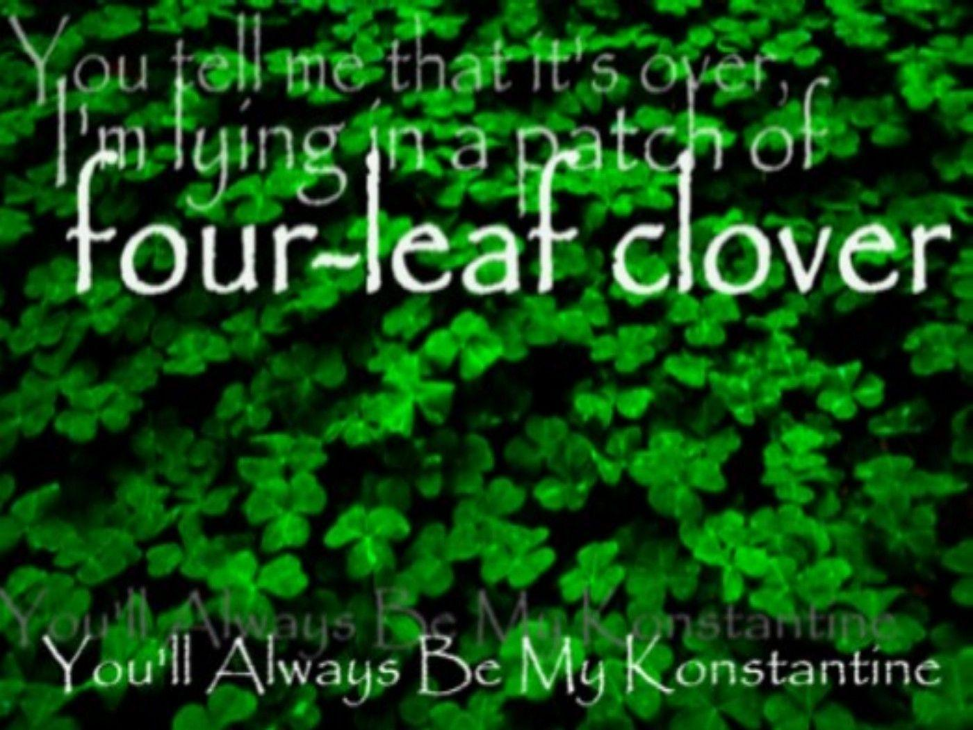 Four Leaf Clover Wallpapers by emilygibson