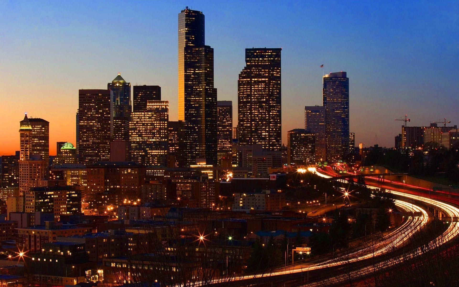 San Francisco at night Wallpapers | HD Wallpapers Base