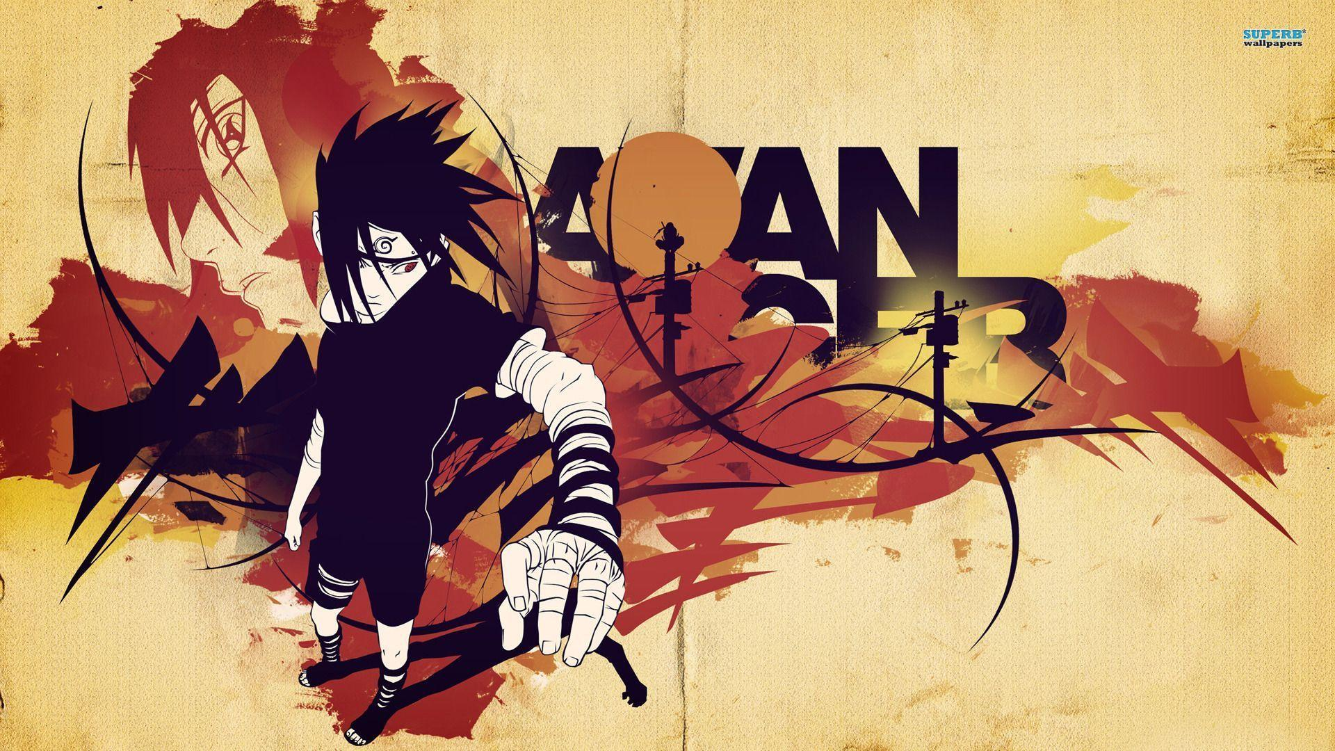 Wallpapers For > Sasuke Wallpapers 1920x1080