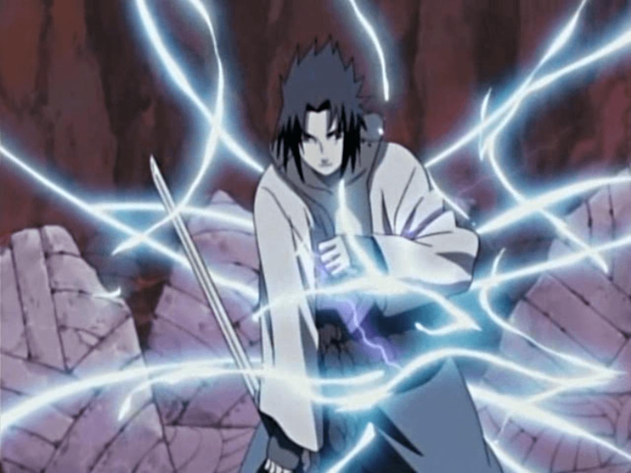 Sasuke Shippuden Chidori