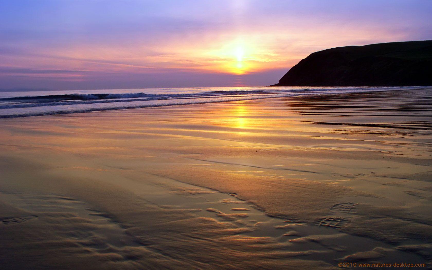 Beach Sunset Backgrounds - Wallpaper Cave