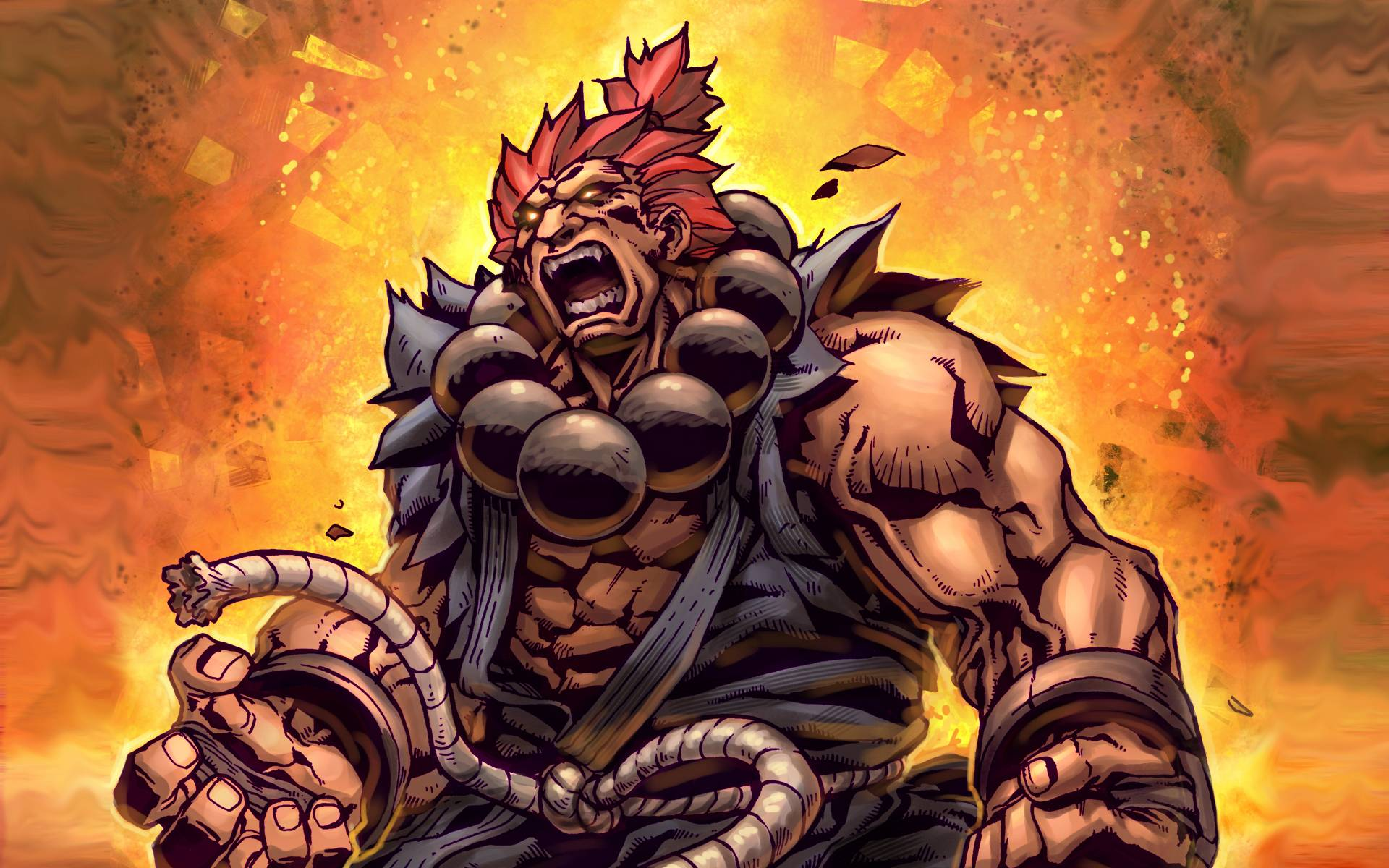Street Fighter 4 Akuma Wallpapers Wallpaper Cave