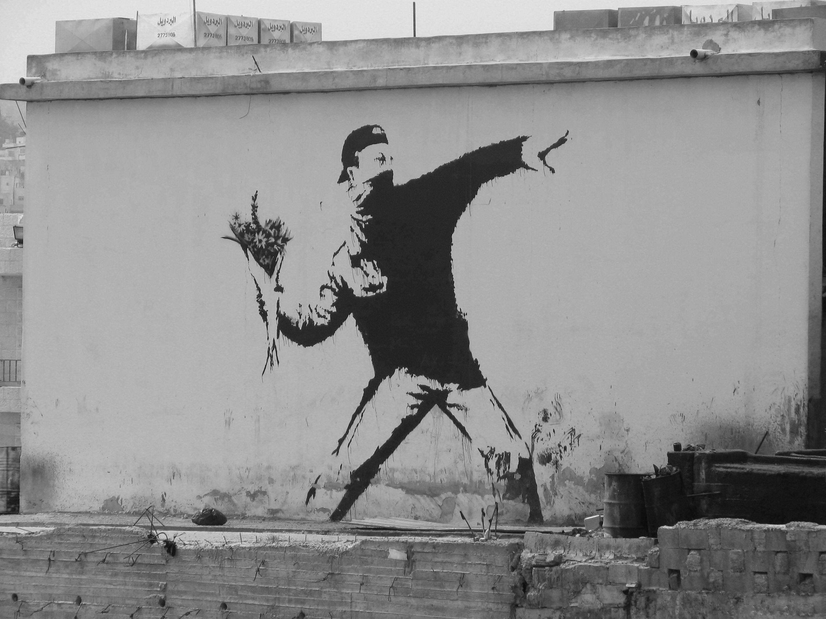 Banksy - The Flower Chucker | Android Central