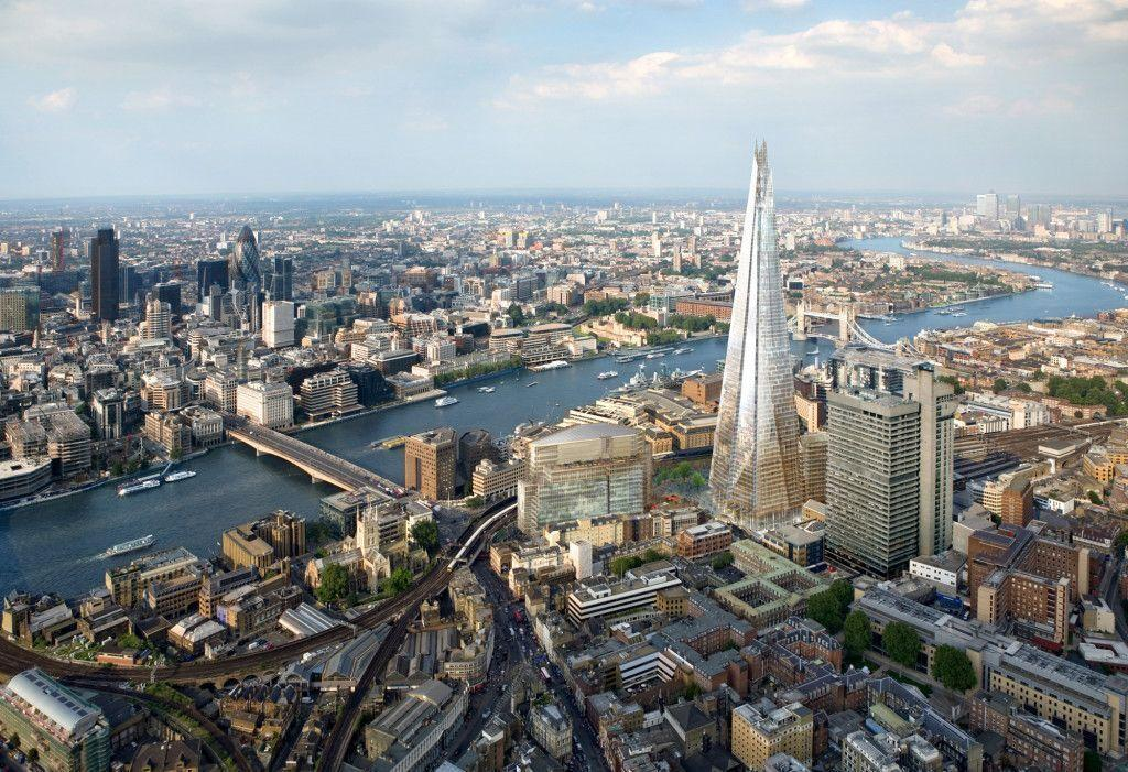 Amazing London The Shard Desktop Image Wallpaper HD,