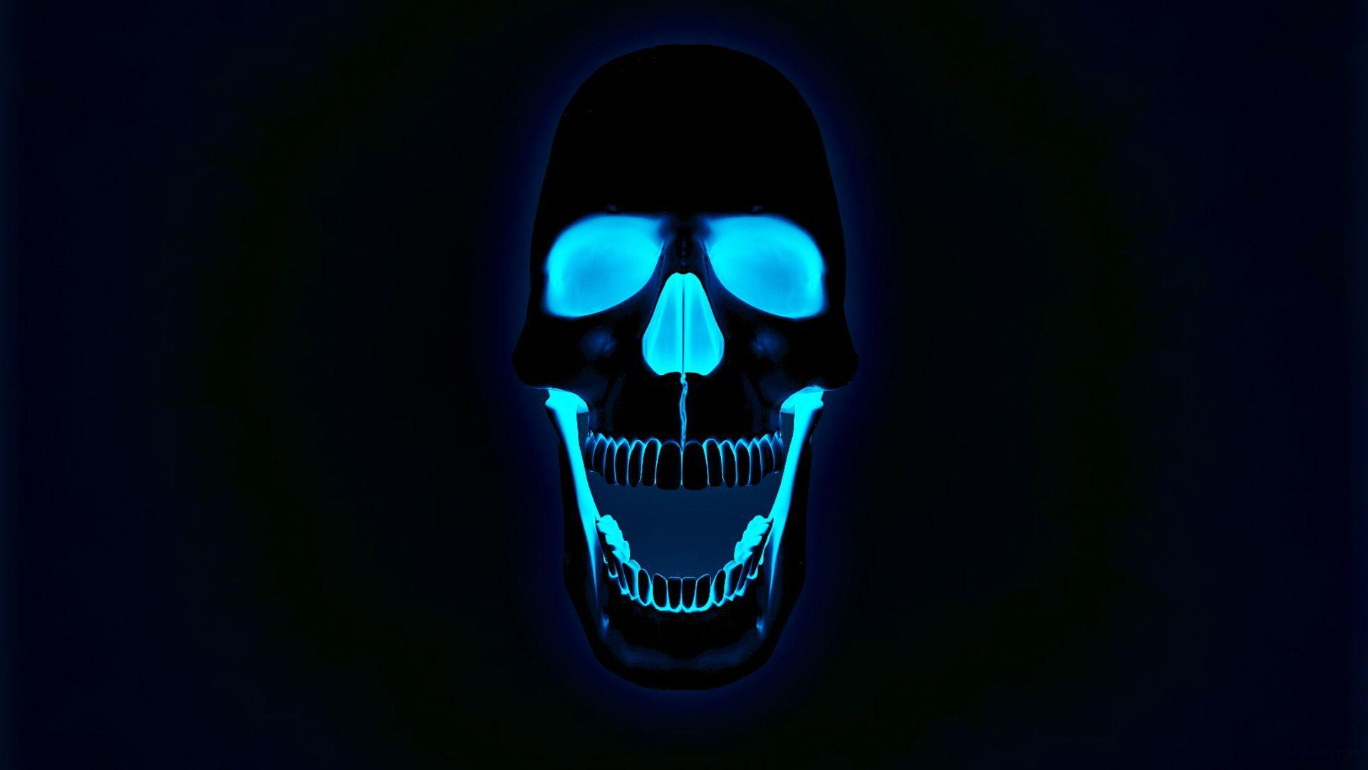 skull wallpaper for windows 7 - photo #27