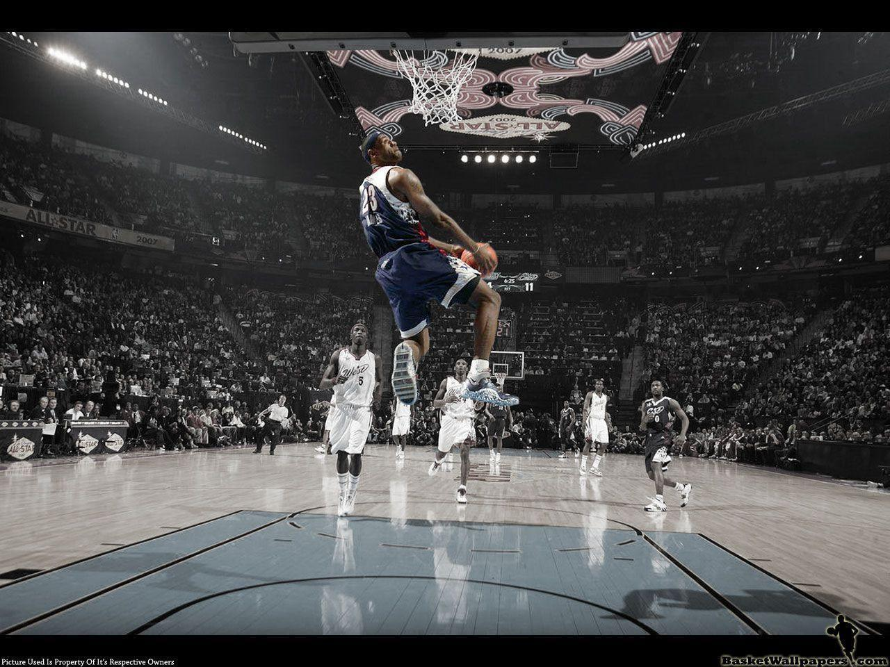 Lebron James Dunk Wallpapers Players Sport