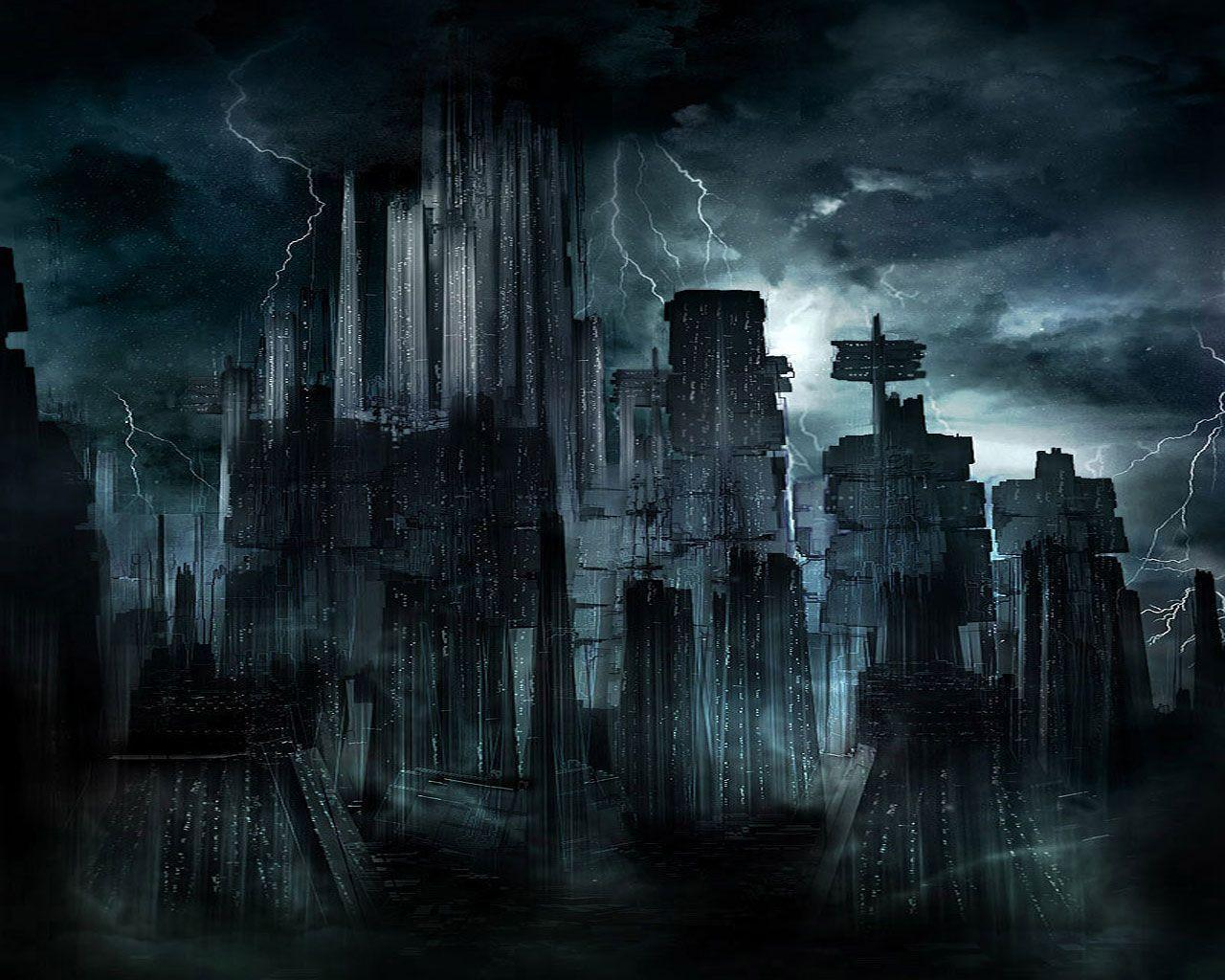 The Dark City wallpapers from Dark wallpapers