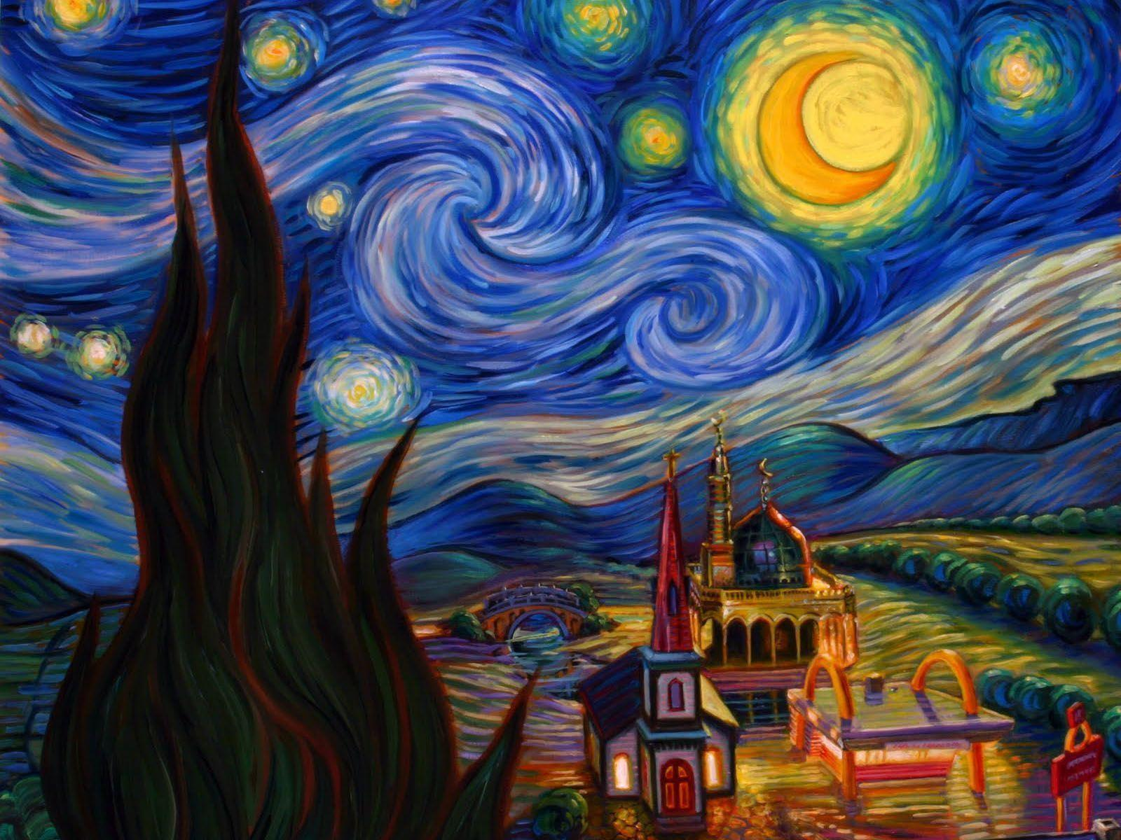 THE STORY OF STARRY NIGHT Vincent Van Gogh Painted Starry Night In 1889 During His Stay At The Asylum Of SaintPauldeMausole Near SaintRémydeProvence