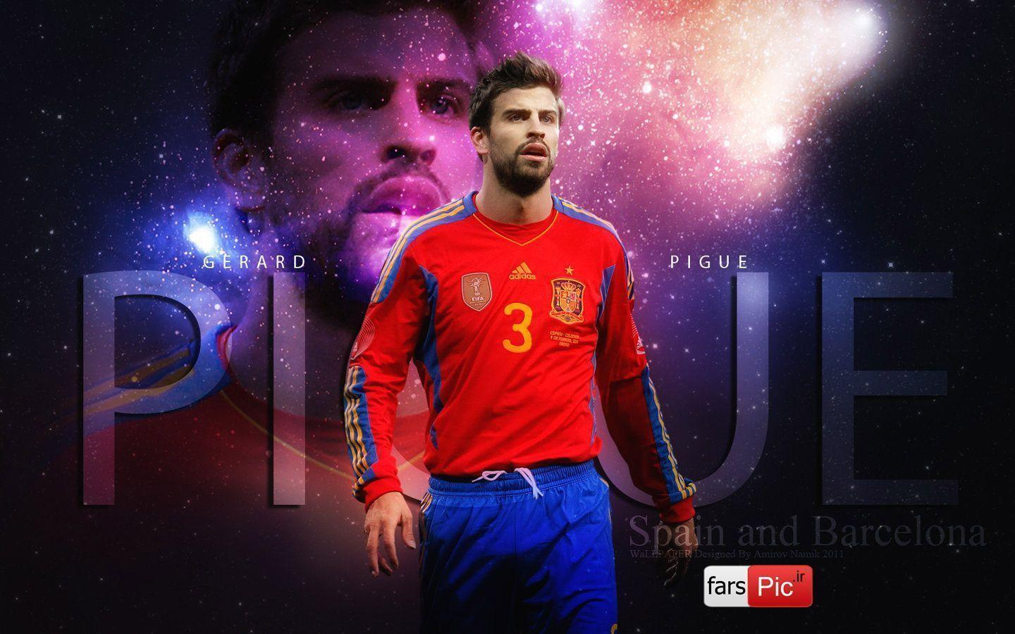 wallpapers free picture: Gerard Pique Wallpapers 2011