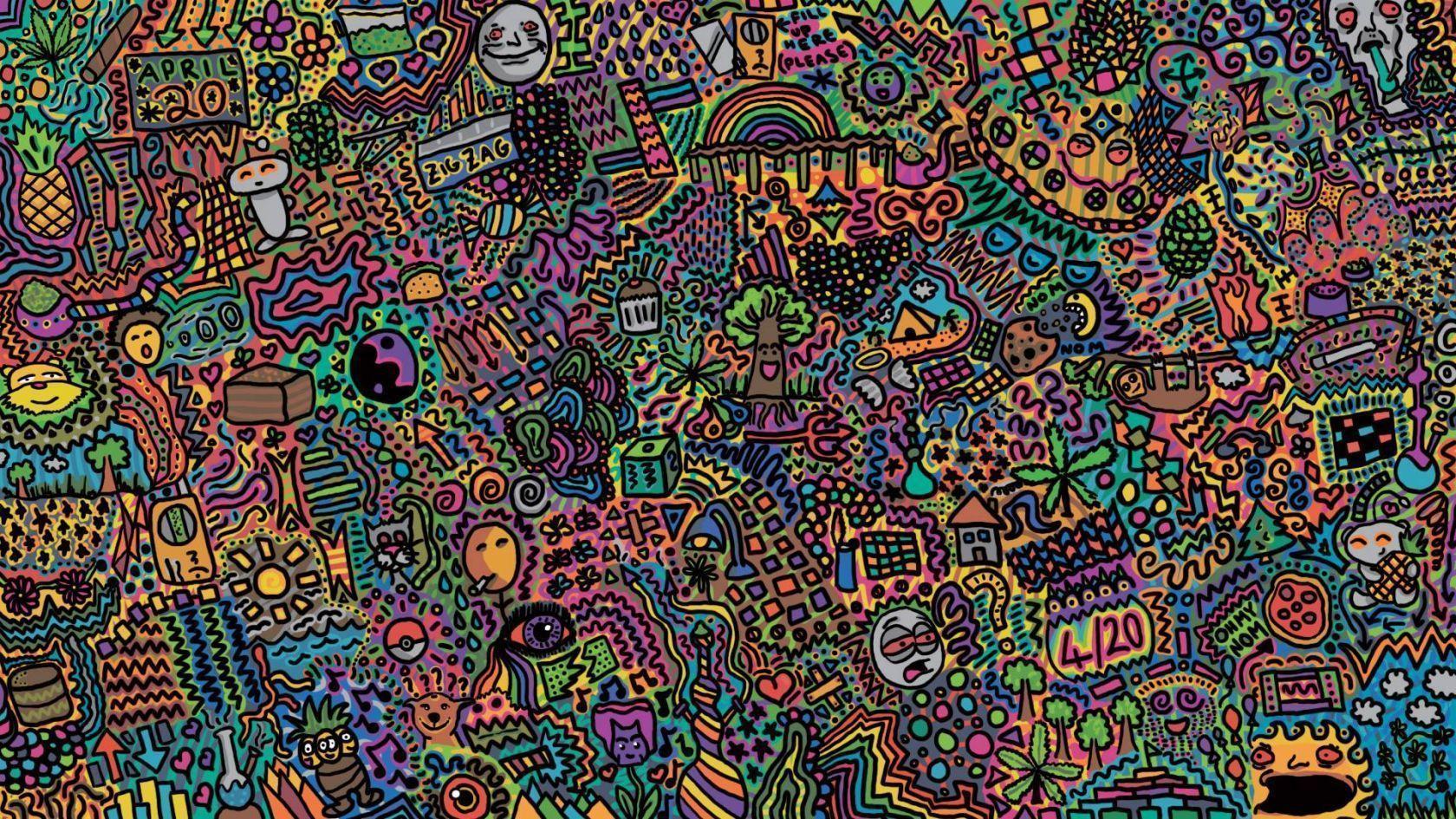 doodle wallpaper