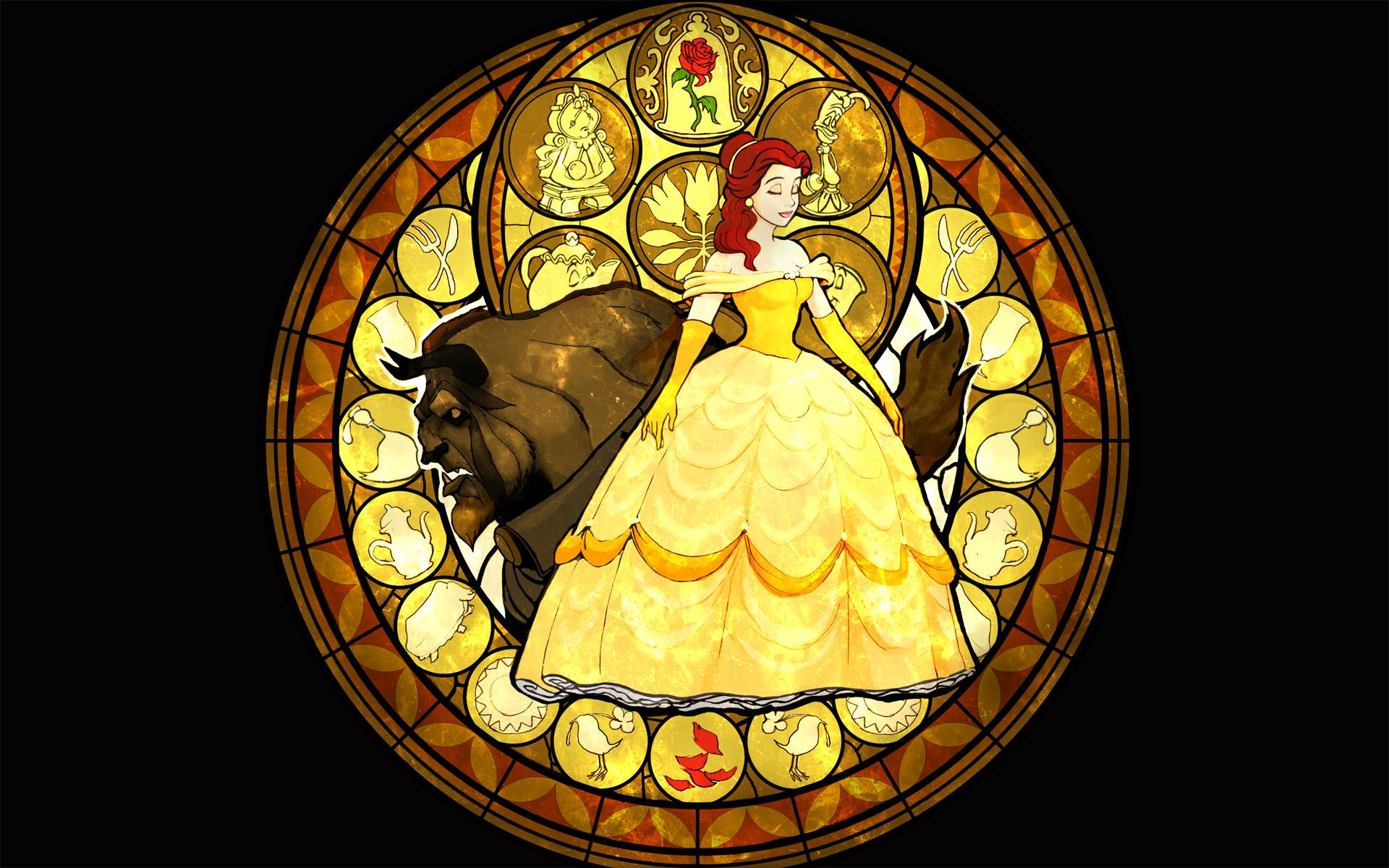 beauty and the beast wallpapers wallpaper cave. Black Bedroom Furniture Sets. Home Design Ideas