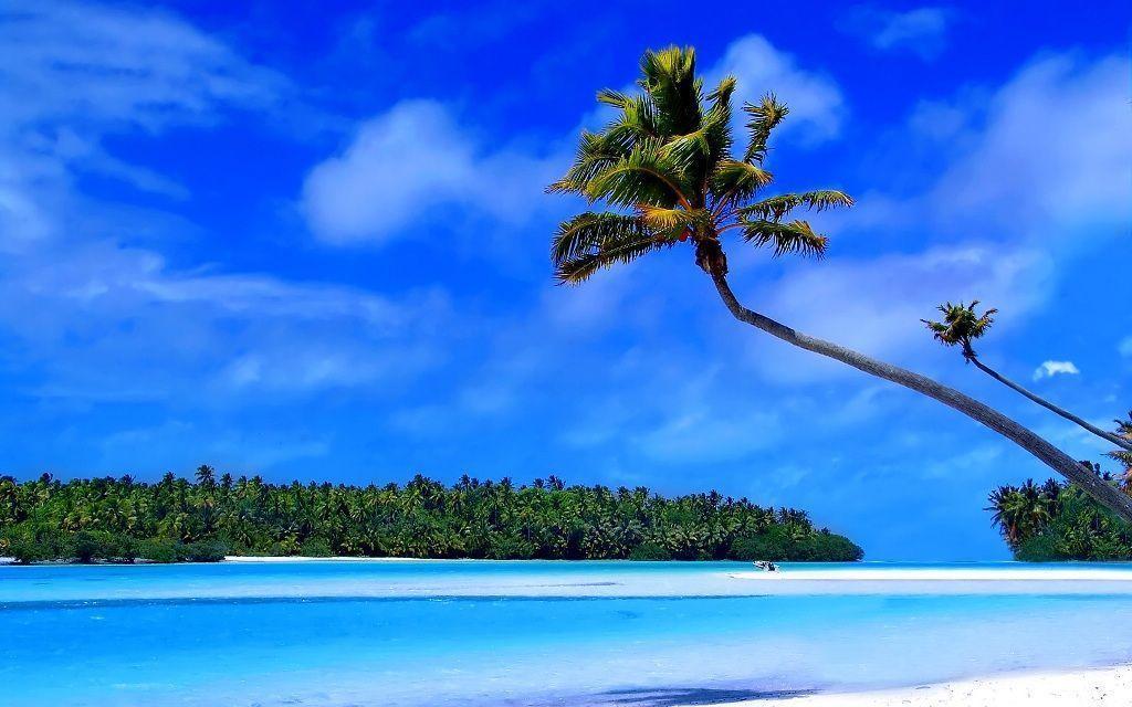 Hd Tropical Island Beach Paradise Wallpapers And Backgrounds: Free Tropical Desktop Backgrounds