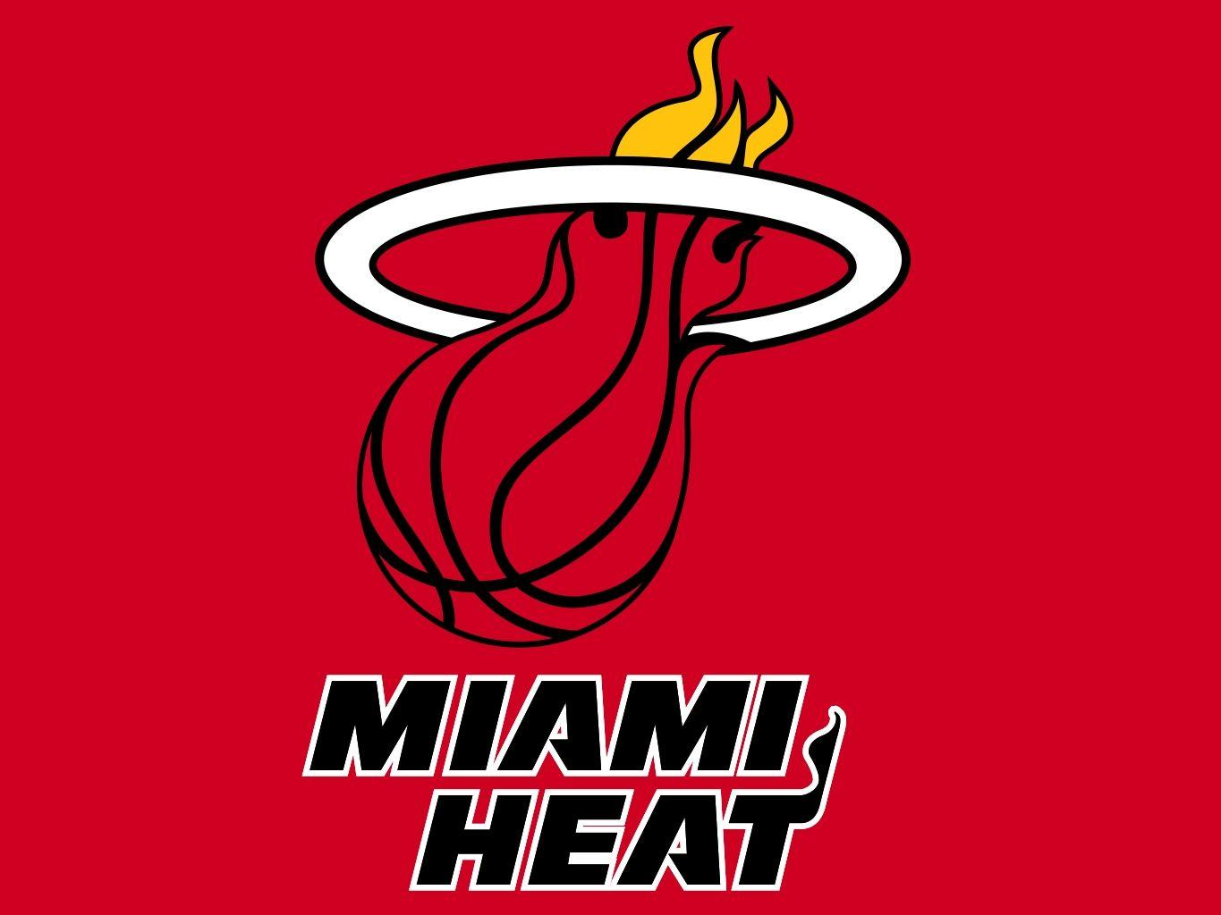 Miami Heat Logo Wallpapers Wallpaper Cave