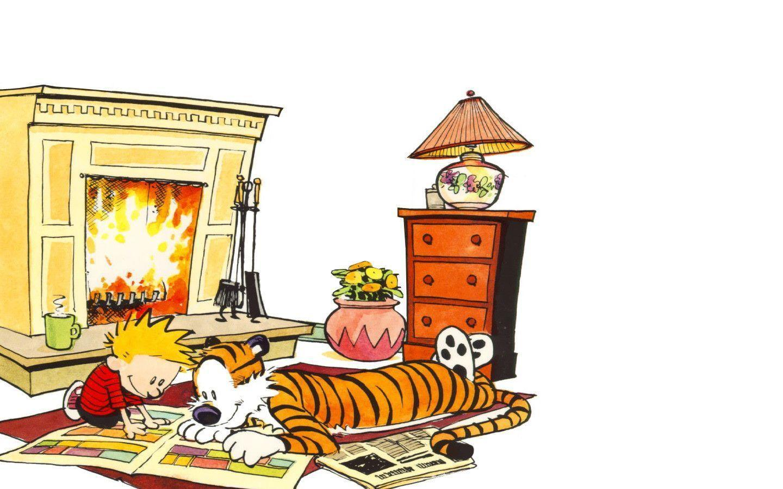 Calvin And Hobbes Desktop Wallpapers - Wallpaper Cave