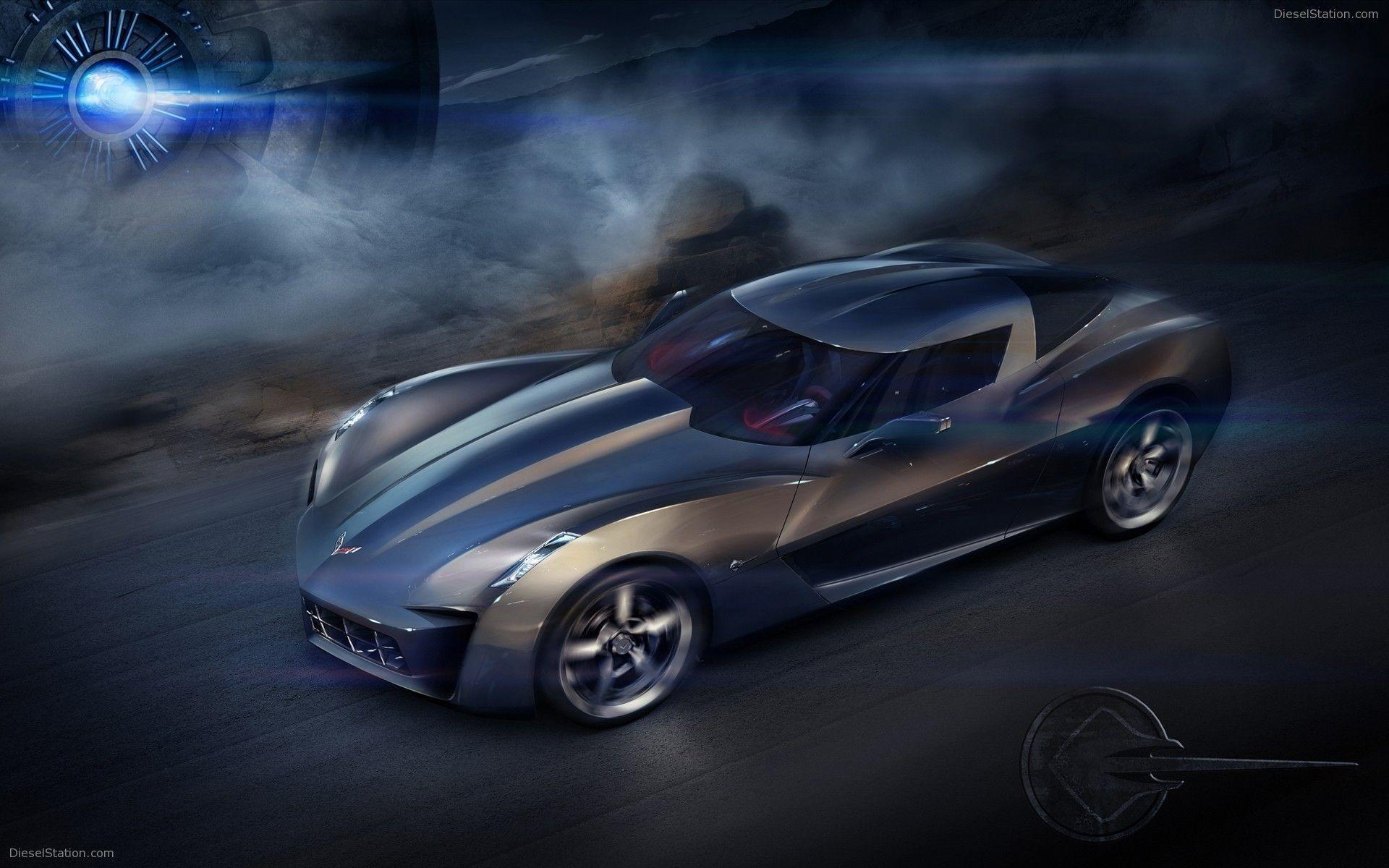 3d Corvette Wallpaper Jakubmroz Com