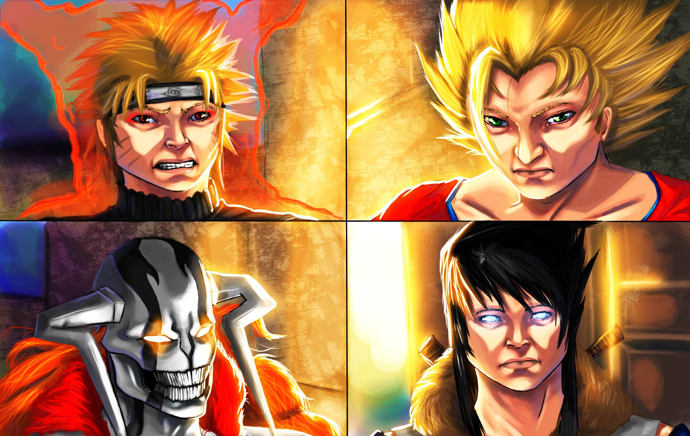 goku vs naruto wallpaper viewing gallery