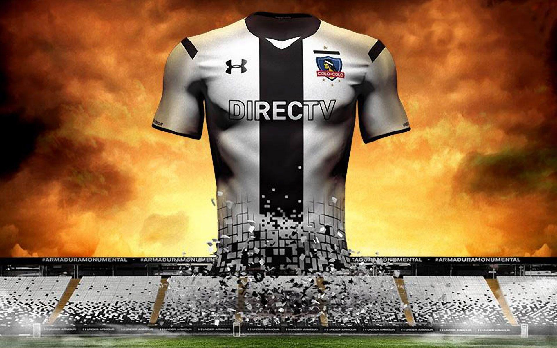 Colo-Colo 2015 Under Armour Home Jersey Wallpaper Wide or HD ...