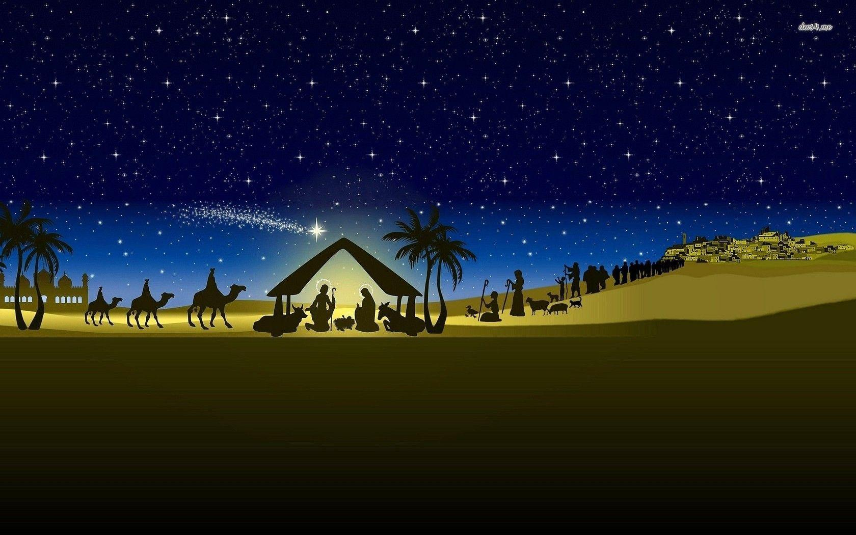 free nativity wallpapers wallpaper cave