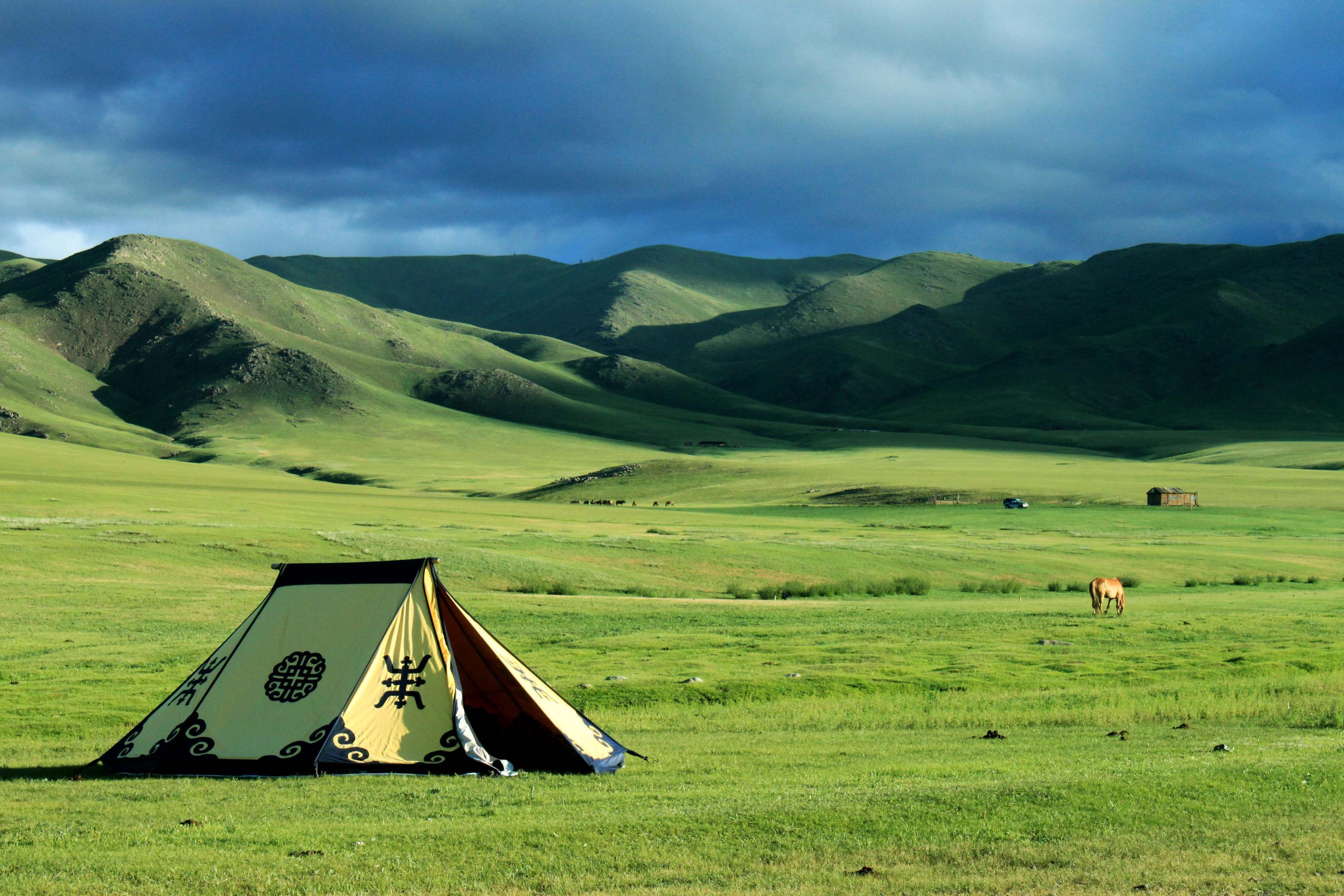 Image For > Mongolian Steppe Wallpapers