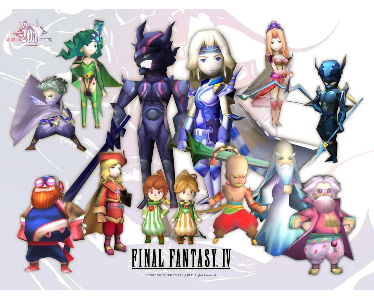 Image For > Final Fantasy 4 Edge