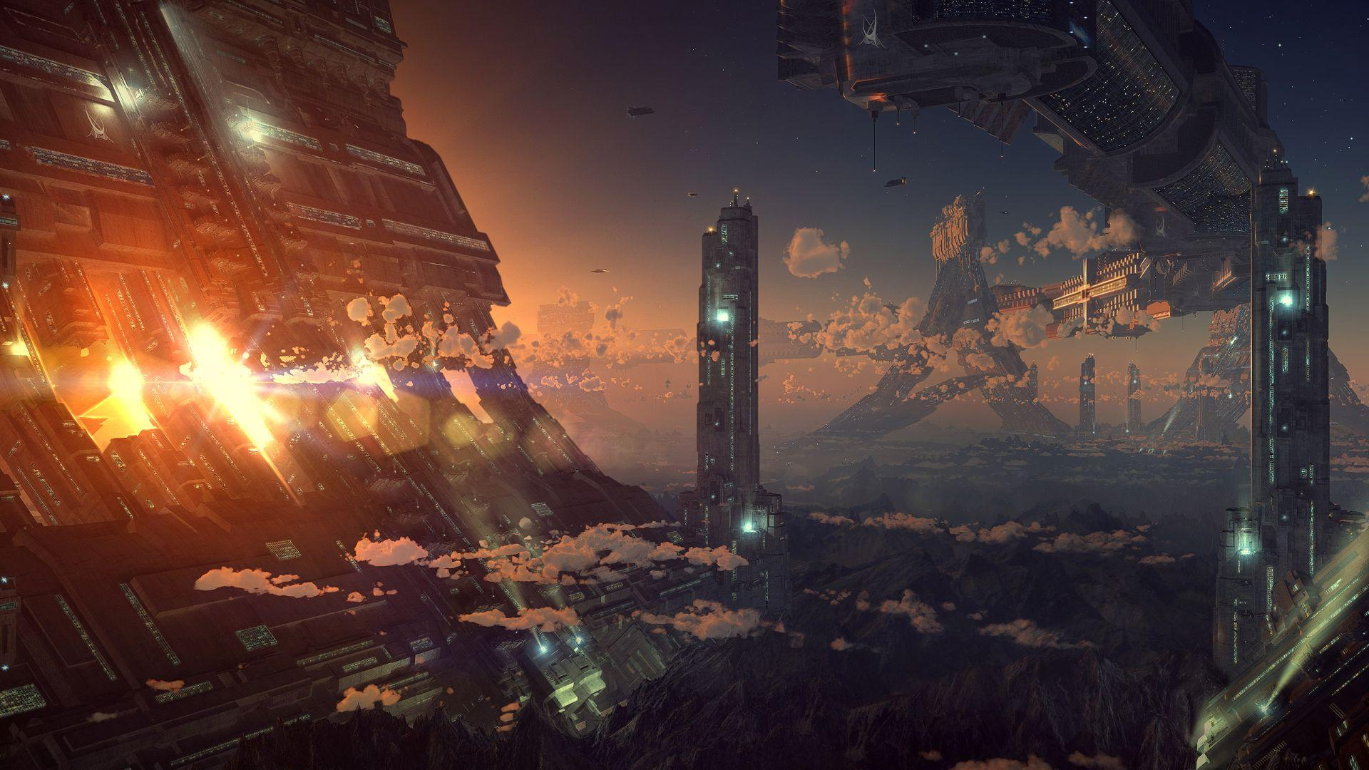 sci fi backgrounds - photo #2
