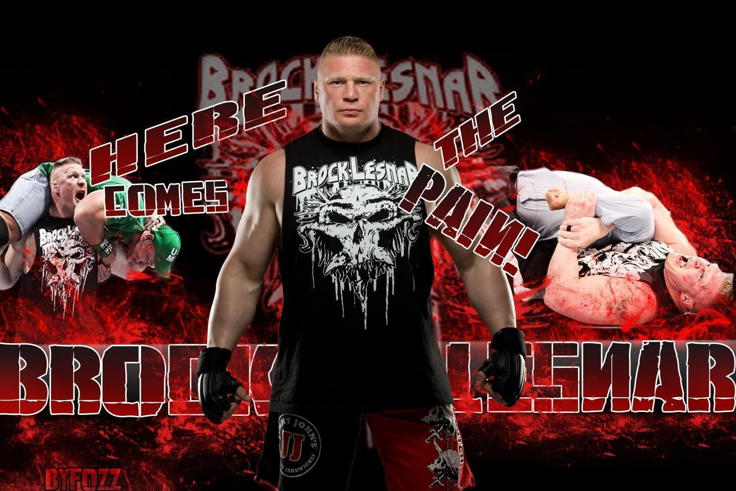 Brock Lesnar 2012 Wallpapers