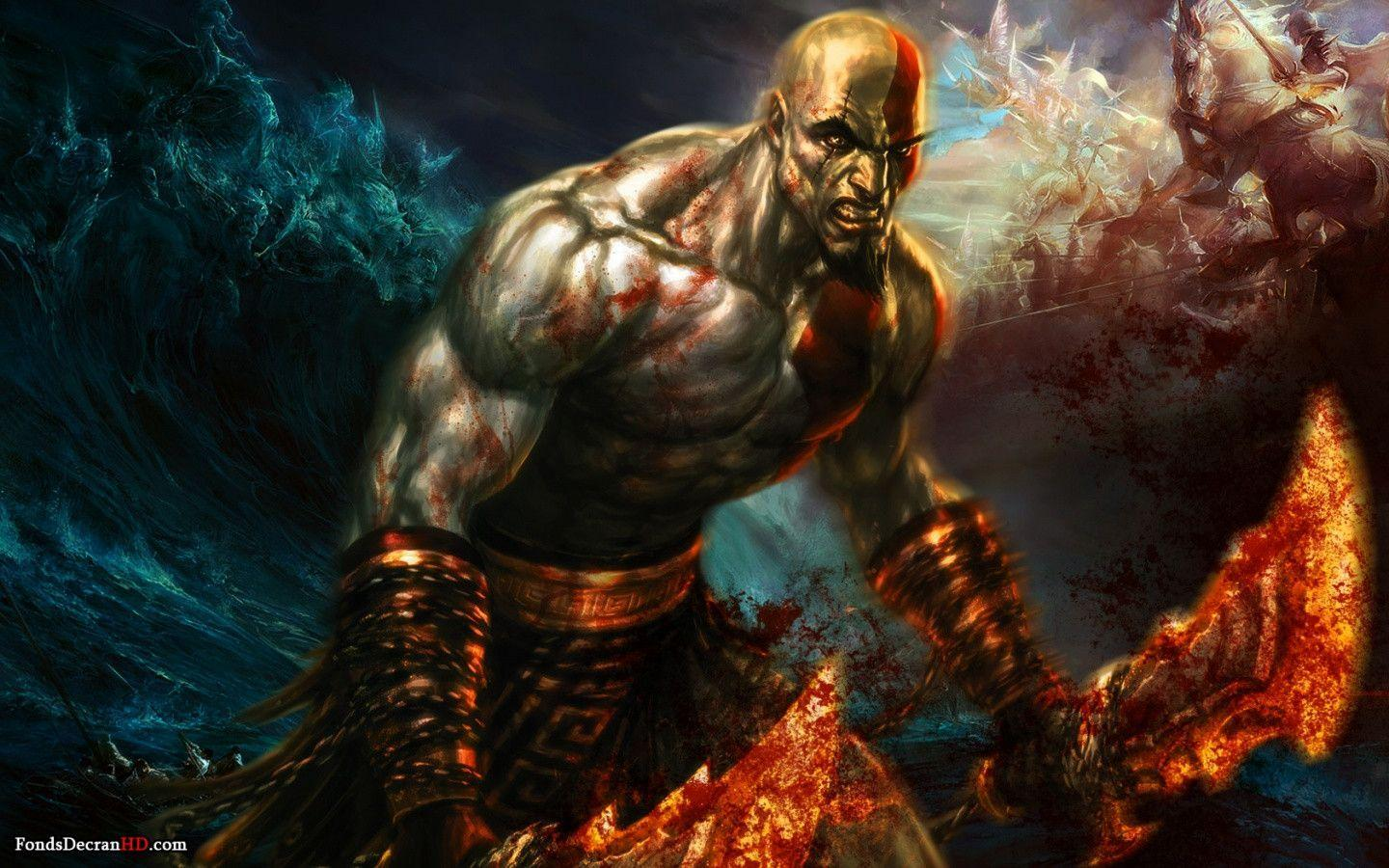 God Of War 3 Wallpapers Hd