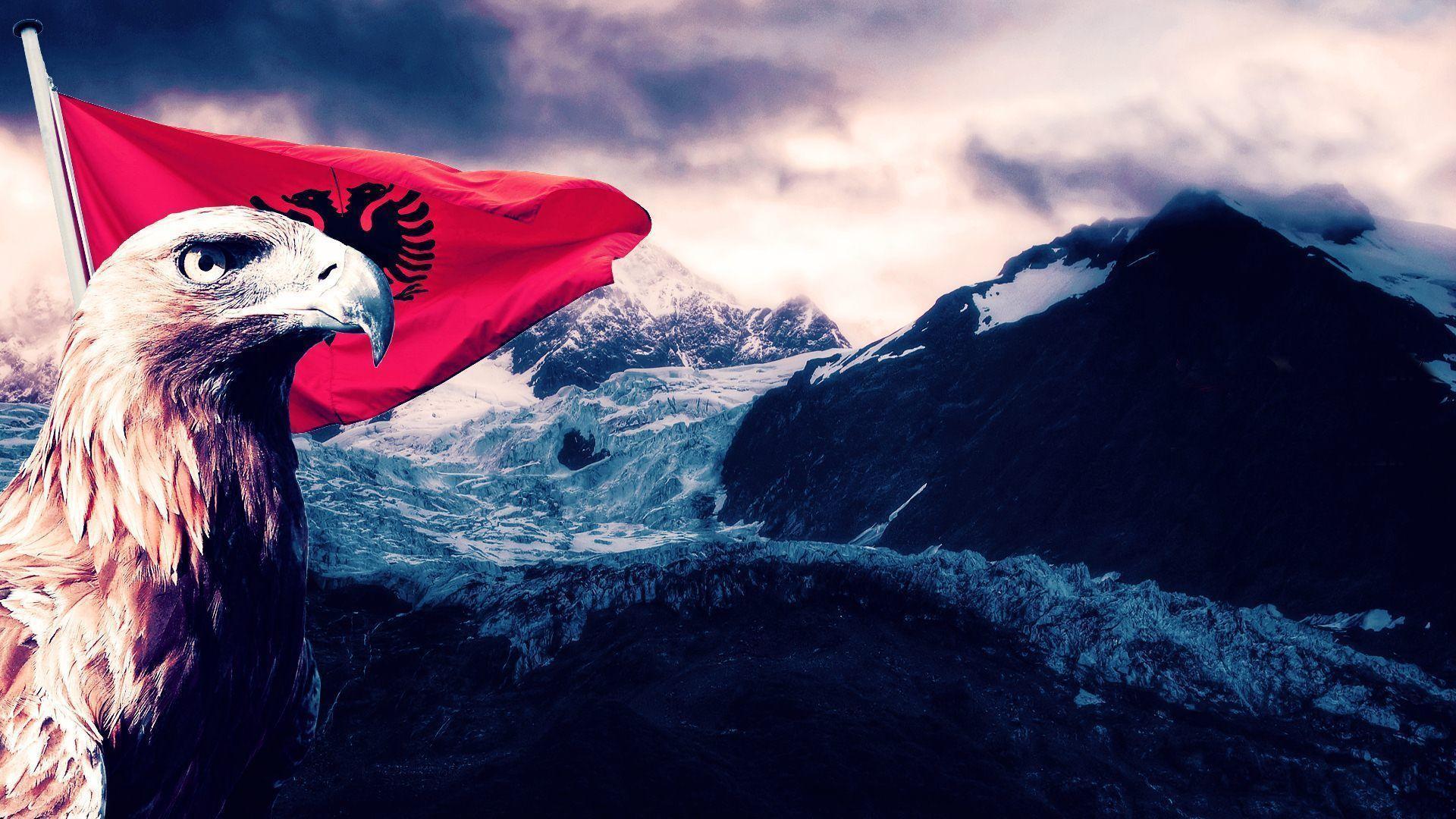 Flag Of Albania Drawing