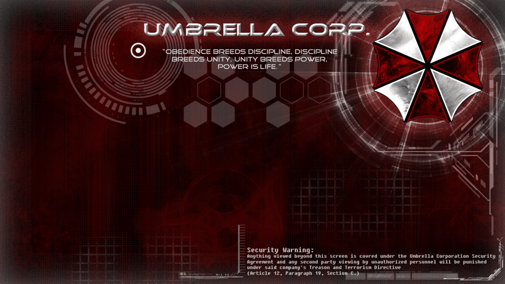 Umbrella Corporation Backgrounds - Wallpaper Cave